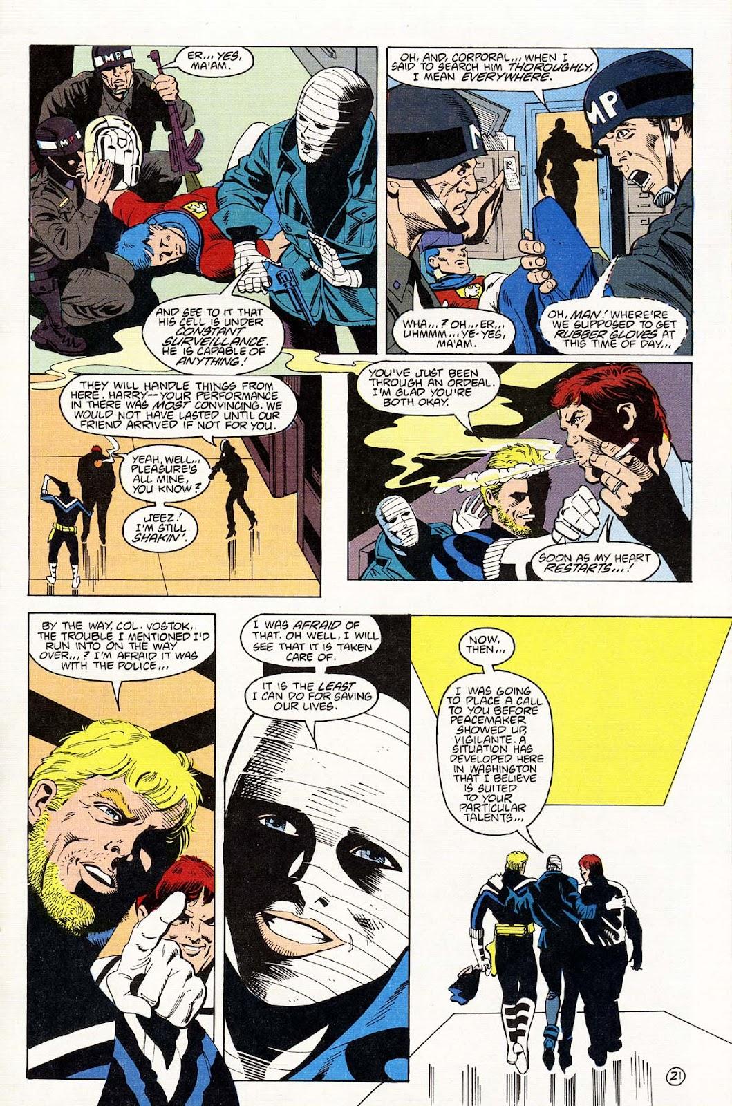 Vigilante (1983) issue 43 - Page 23