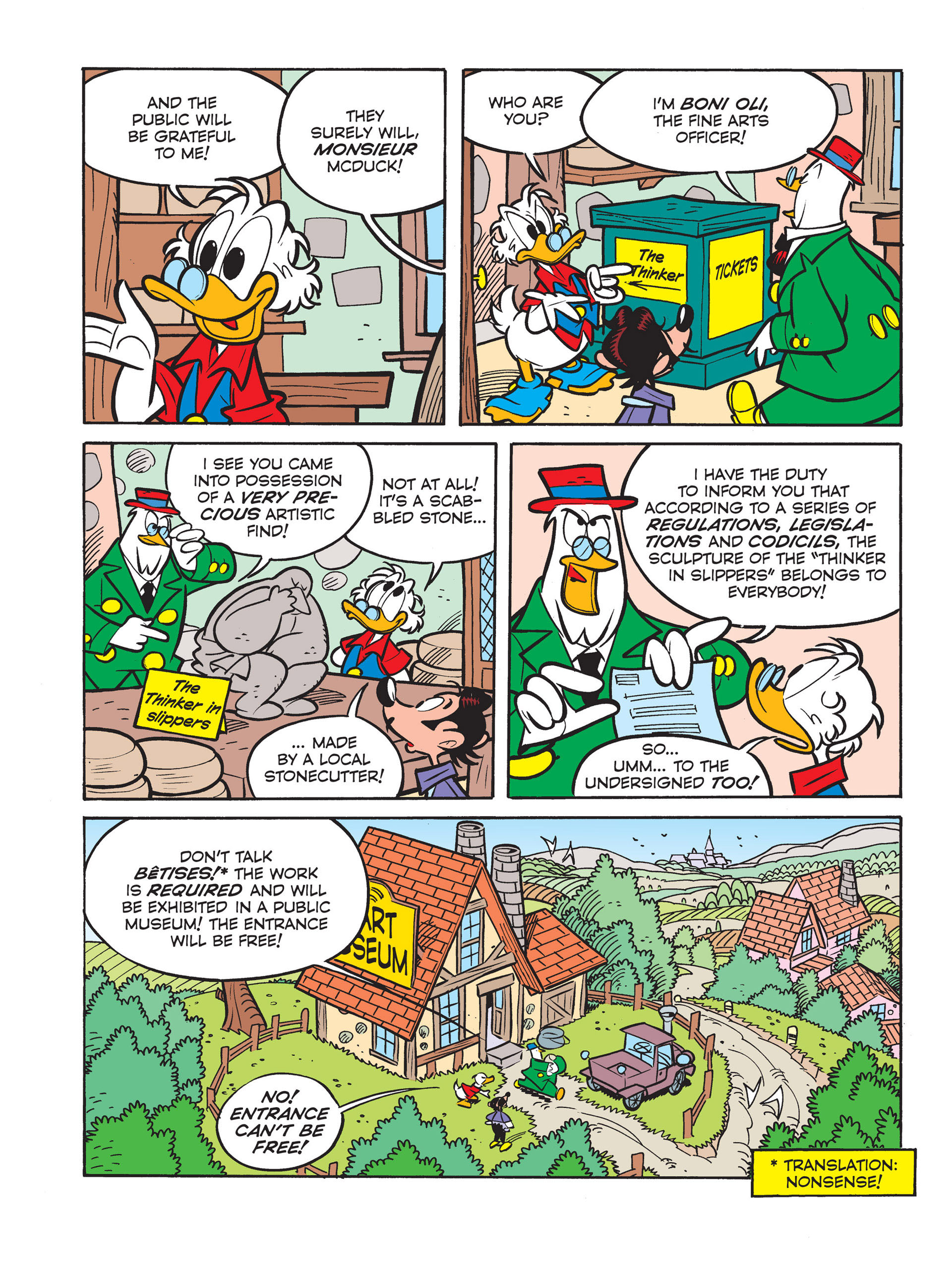 Read online All of Scrooge McDuck's Millions comic -  Issue #6 - 12
