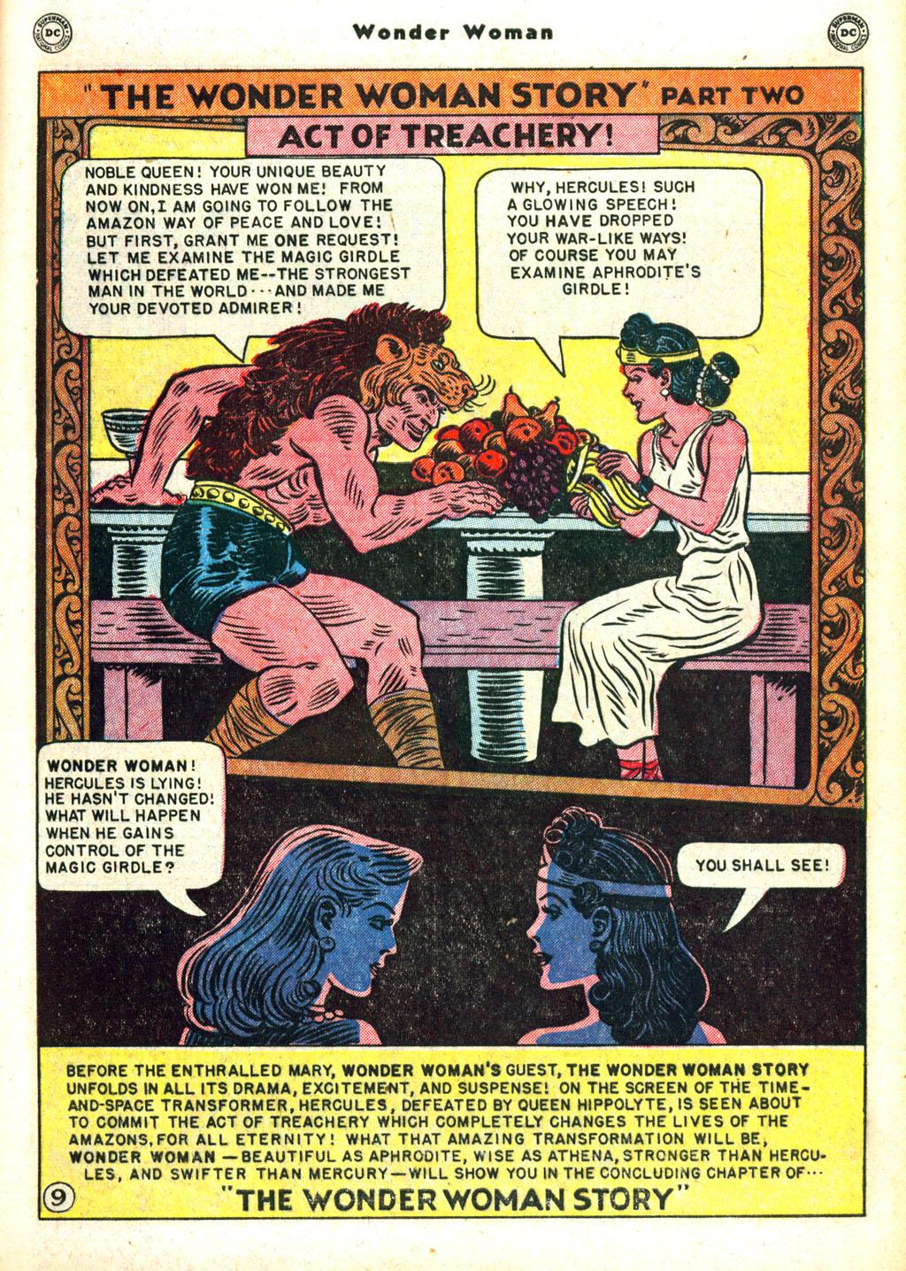 Read online Wonder Woman (1942) comic -  Issue #45 - 13