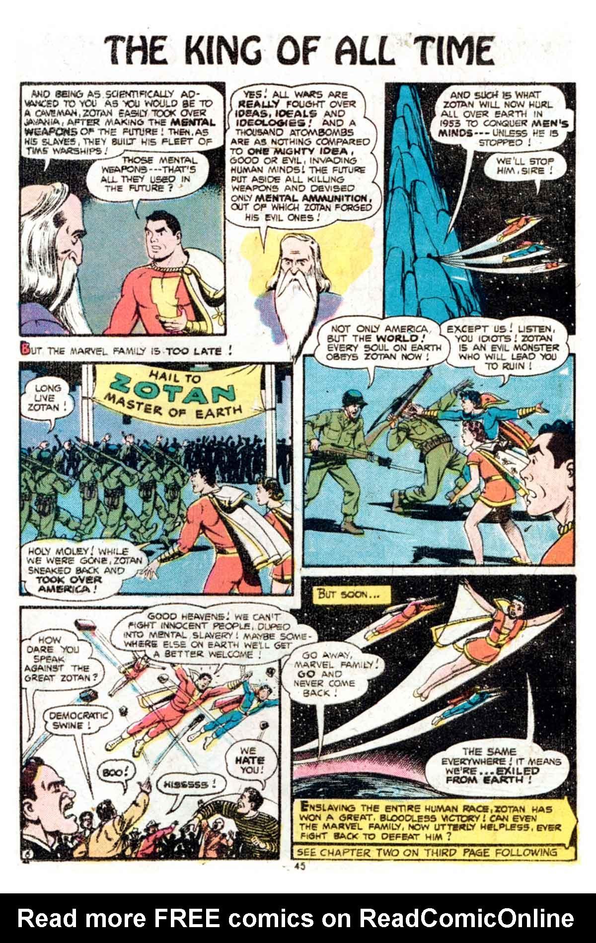 Read online Shazam! (1973) comic -  Issue #15 - 45
