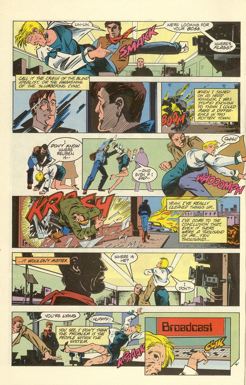 Read online American Flagg! comic -  Issue #39 - 6
