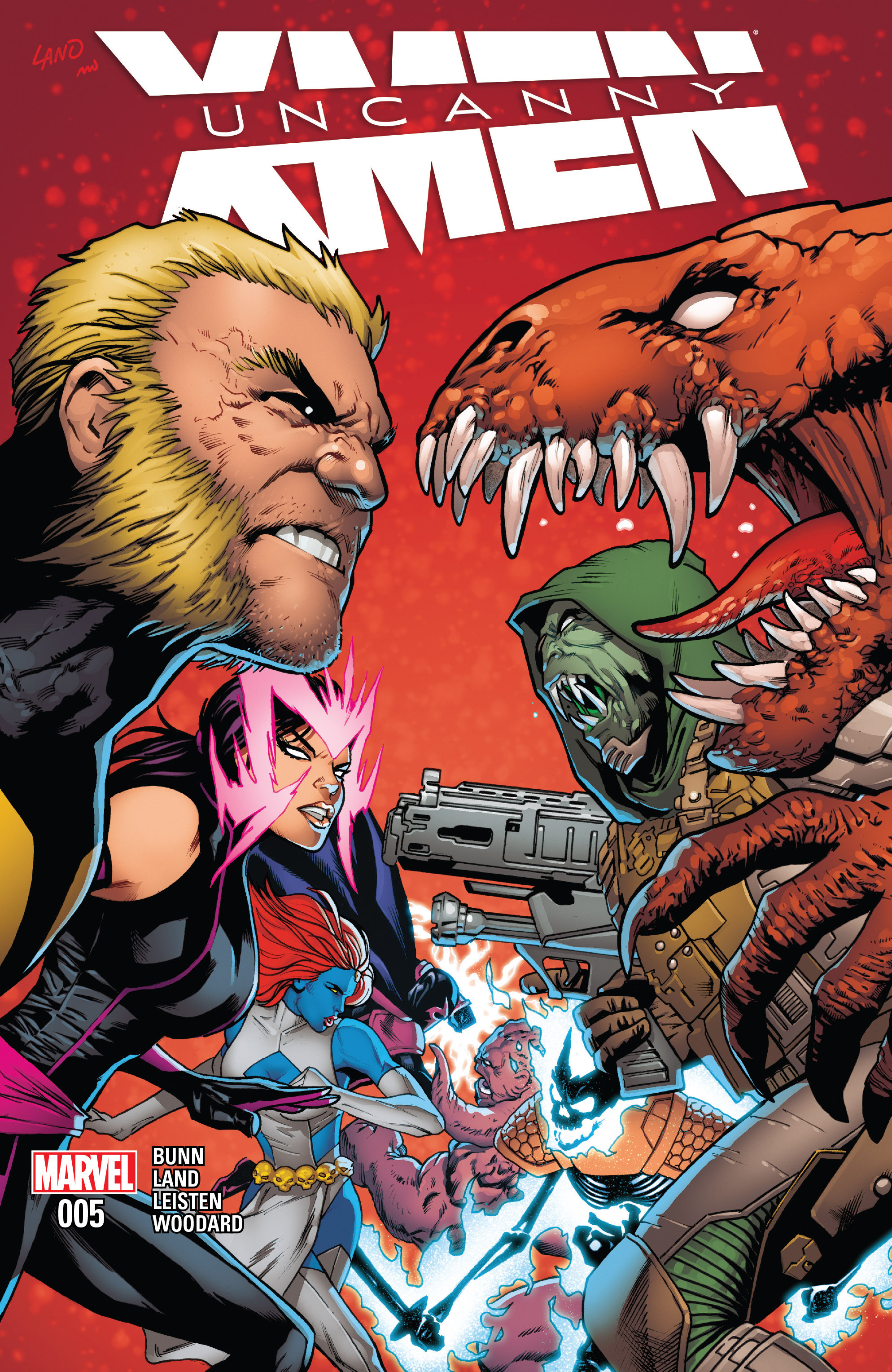 Read online Uncanny X-Men (2016) comic -  Issue #5 - 1