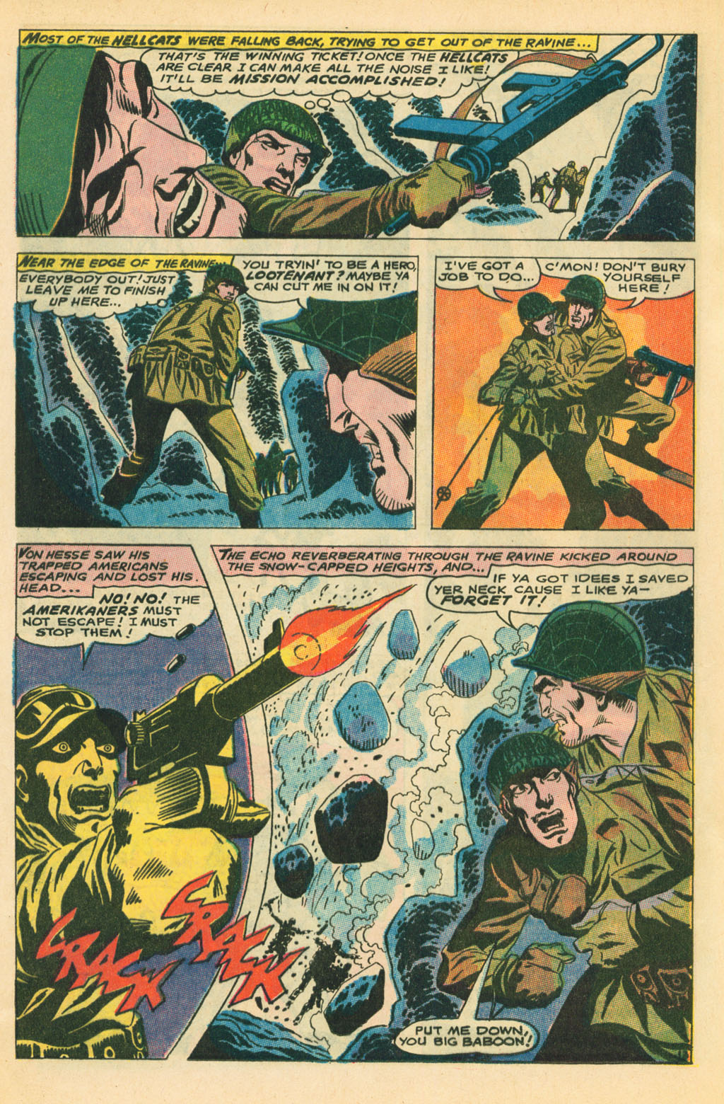 Our Fighting Forces (1954) issue 110 - Page 20
