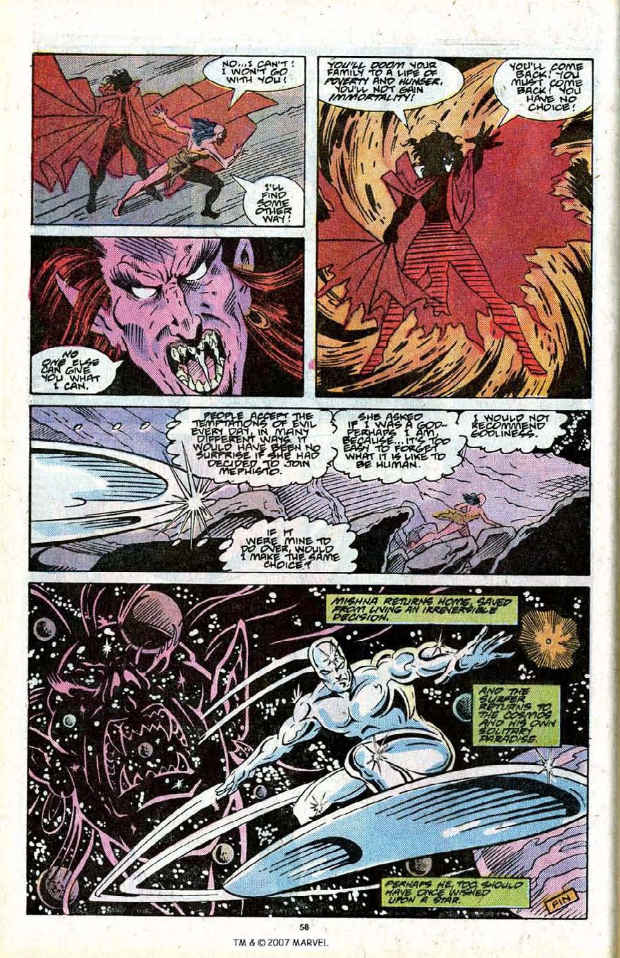 Read online Silver Surfer (1987) comic -  Issue # _Annual 2 - 60