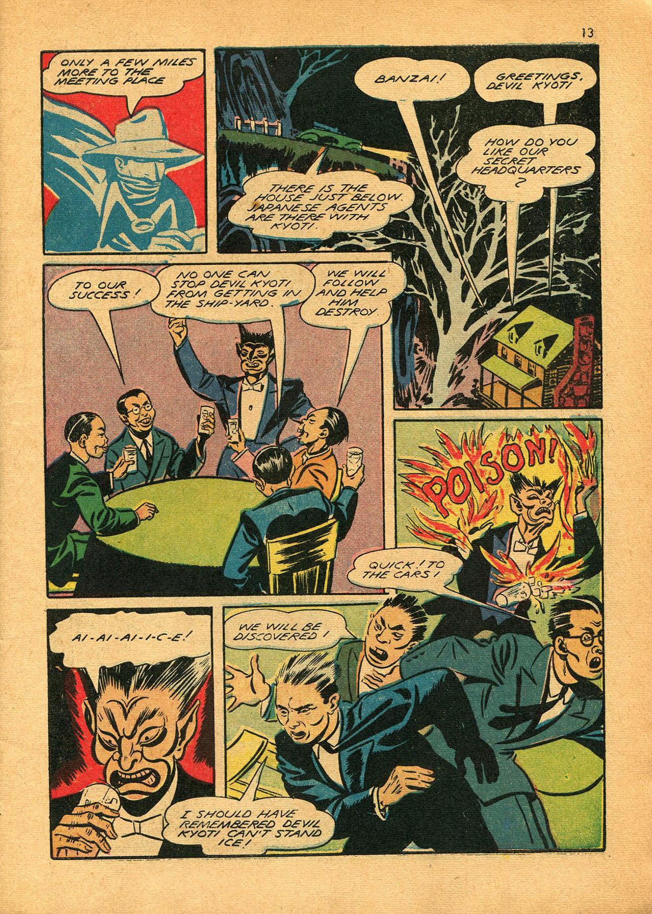 Read online Shadow Comics comic -  Issue #23 - 13