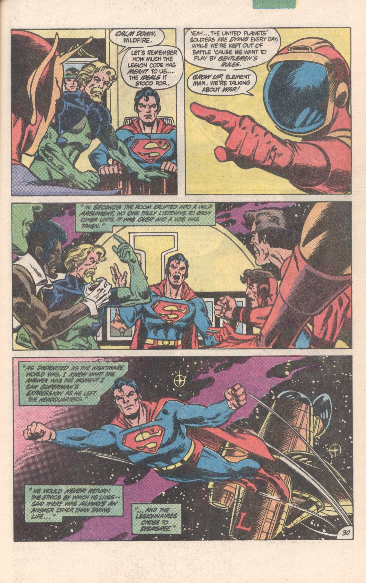 Legion of Super-Heroes (1980) 300 Page 30