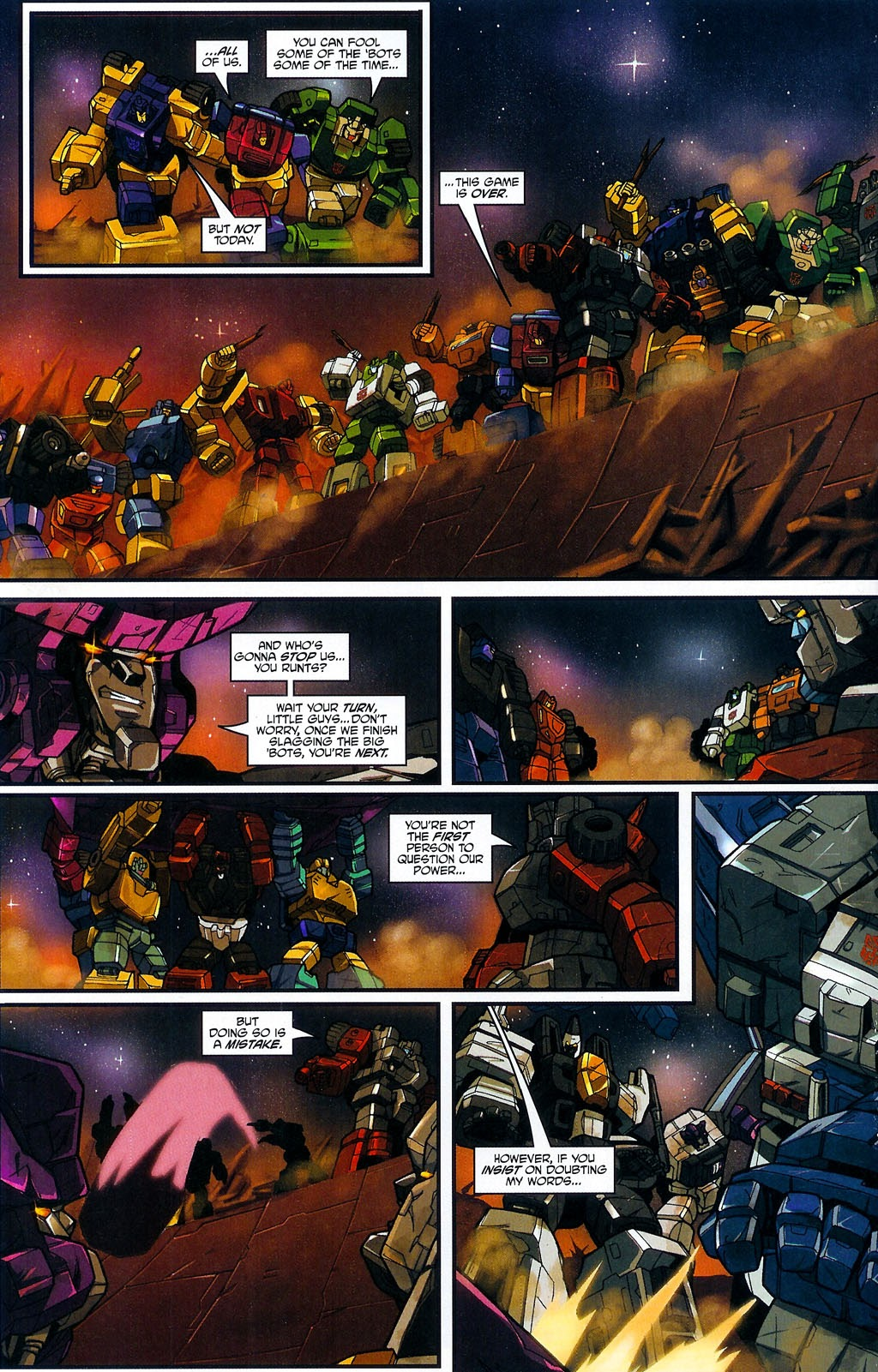Read online Transformers: Micromasters comic -  Issue #4 - 22