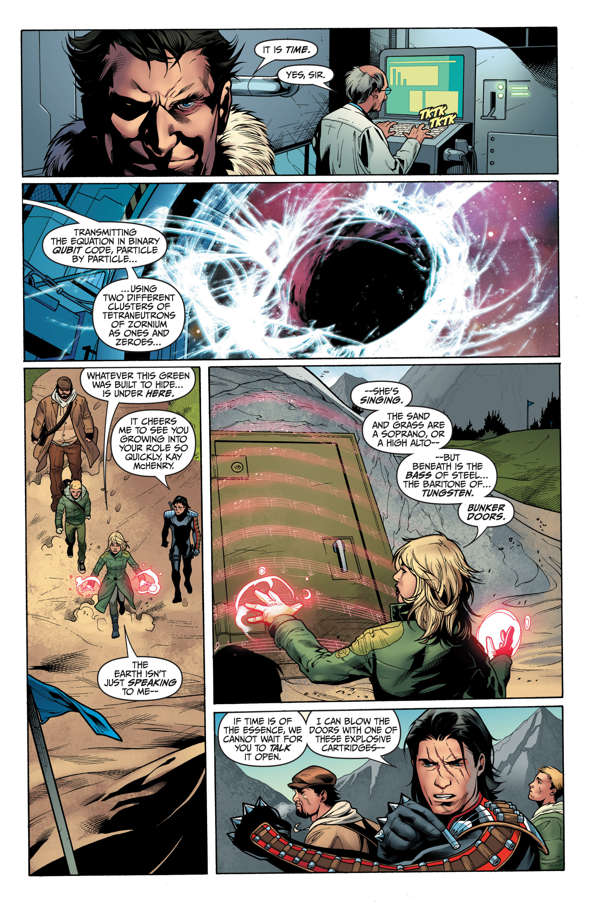 Read online Archer and Armstrong comic -  Issue #8 - 11