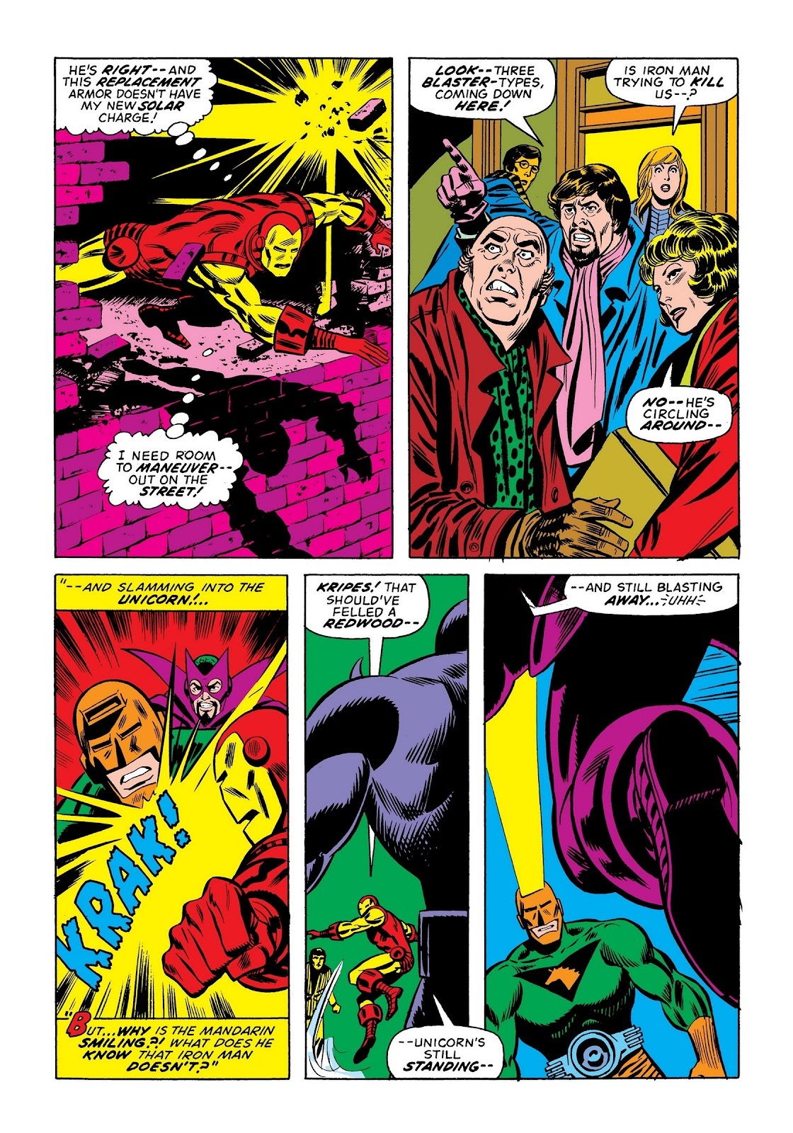 Read online Marvel Masterworks: The Invincible Iron Man comic -  Issue # TPB 9 (Part 2) - 7