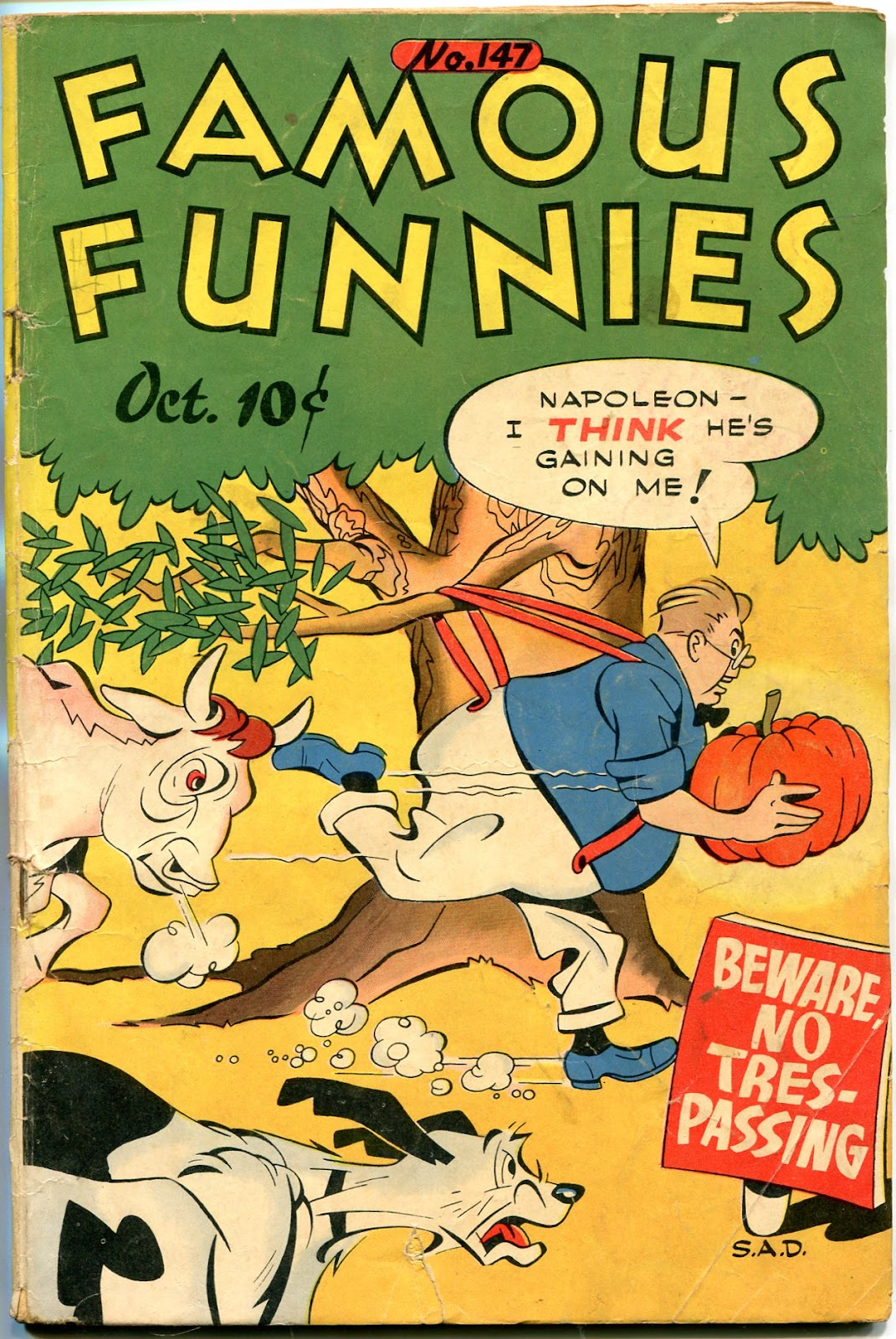 Read online Famous Funnies comic -  Issue #147 - 1