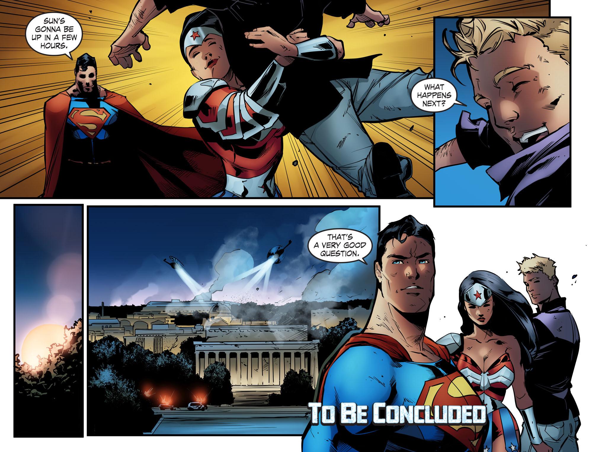 Read online Smallville: Season 11 comic -  Issue #68 - 22