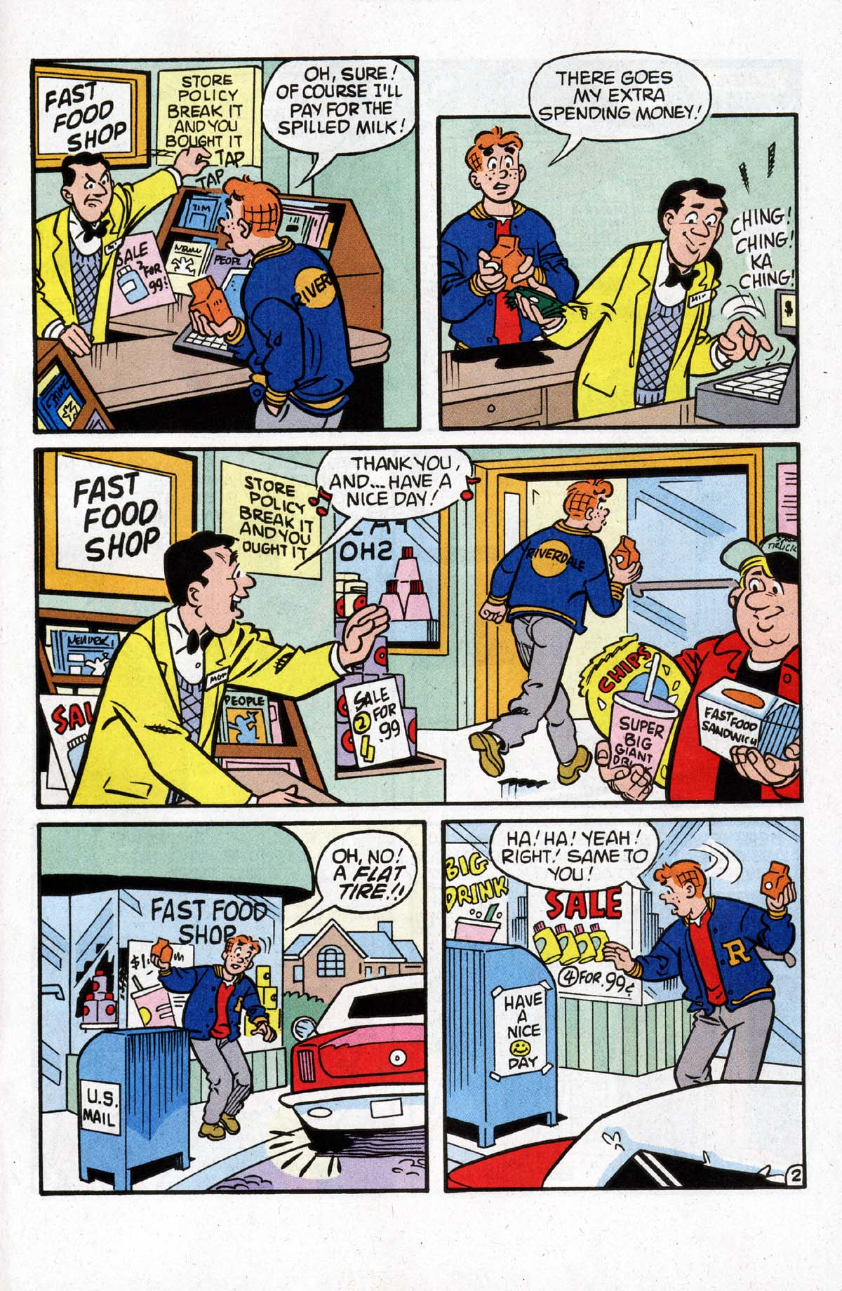 Read online Archie (1960) comic -  Issue #528 - 9
