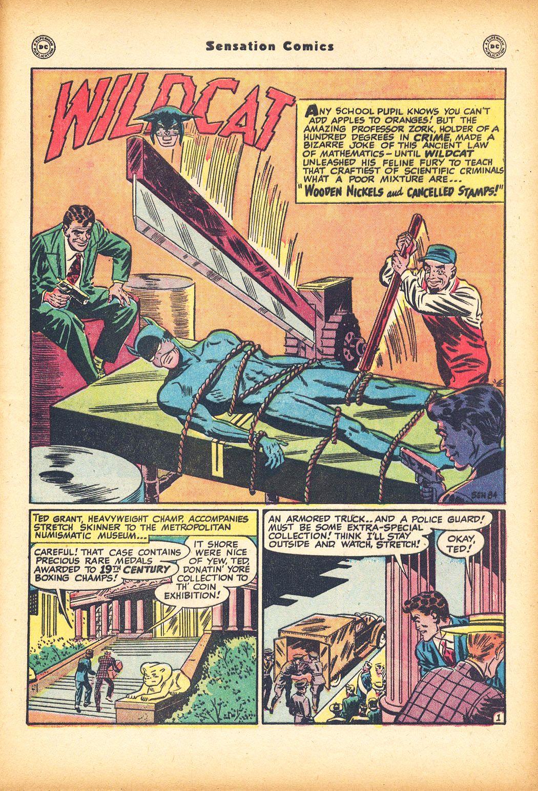 Read online Sensation (Mystery) Comics comic -  Issue #78 - 43