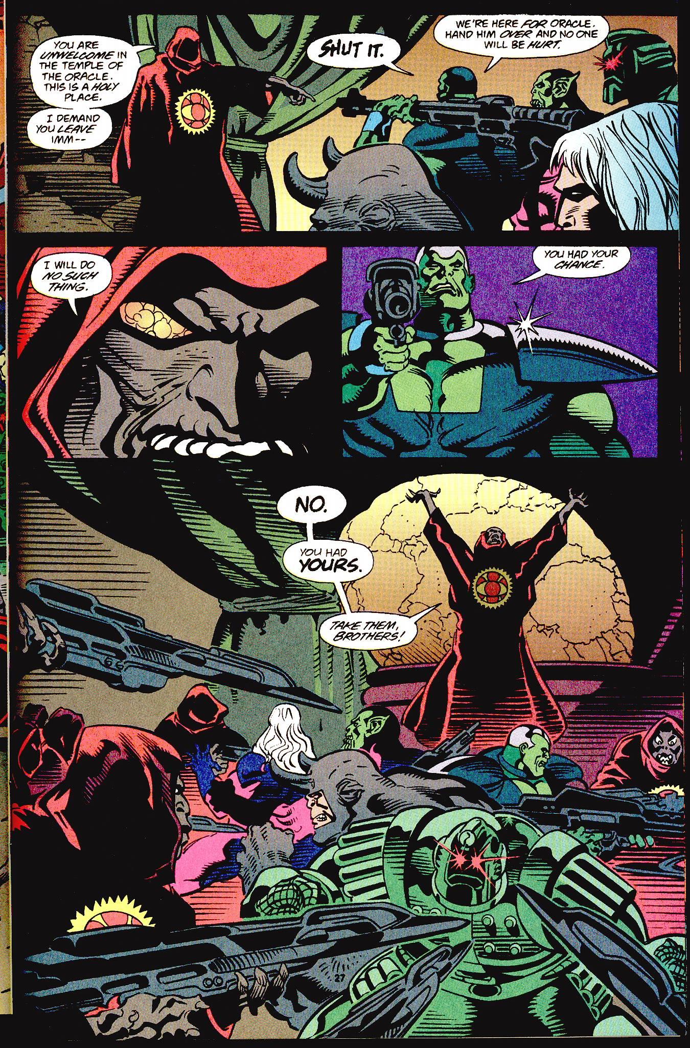 Read online Secret Defenders comic -  Issue #12 - 17