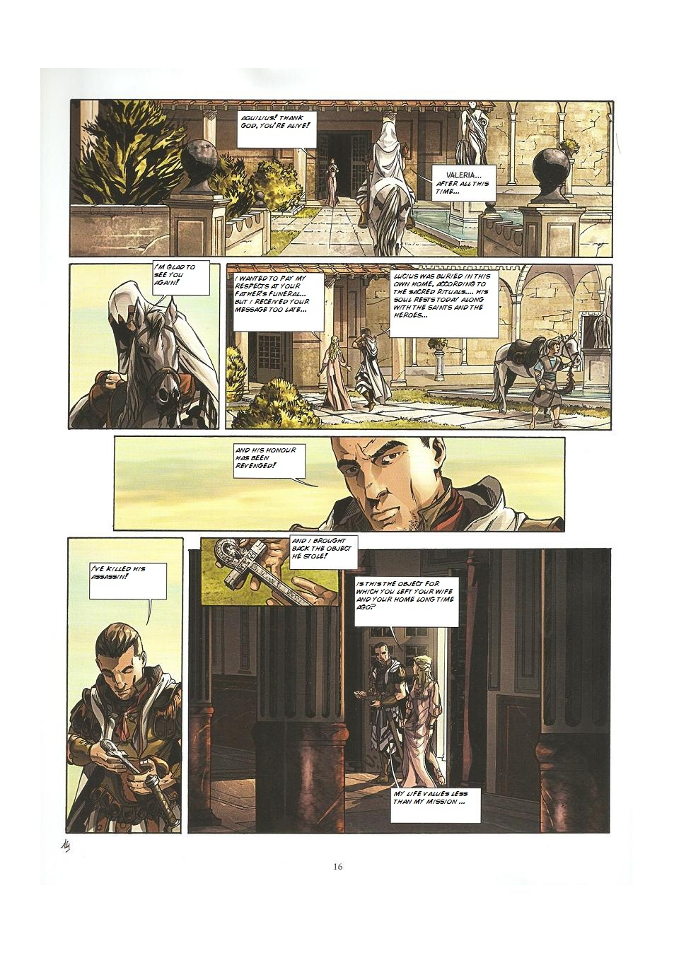 Read online Assassin's Creed (2009) comic -  Issue #3 - 16