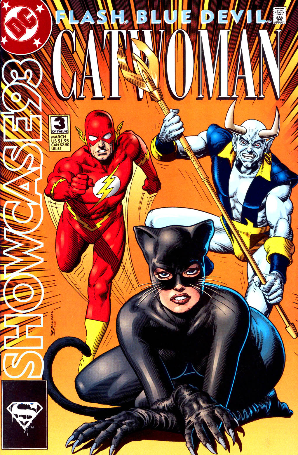 Read online Showcase '93 comic -  Issue #3 - 1