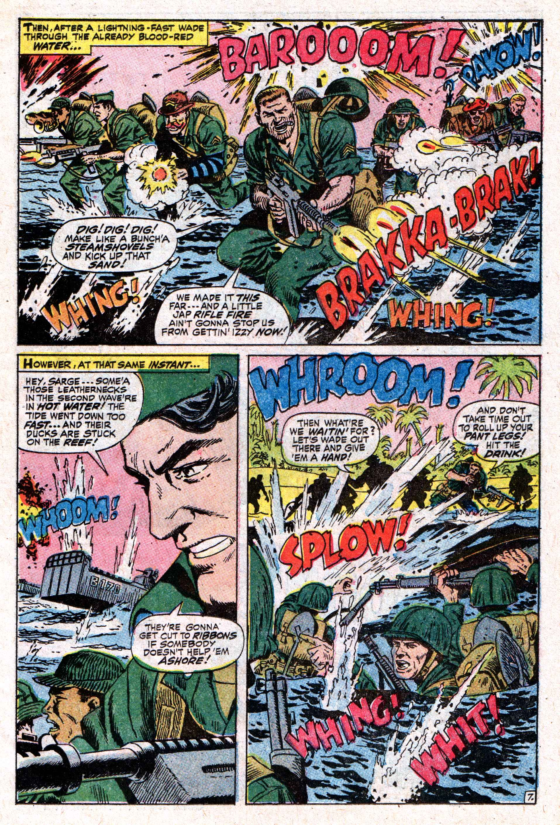 Read online Sgt. Fury comic -  Issue #50 - 11