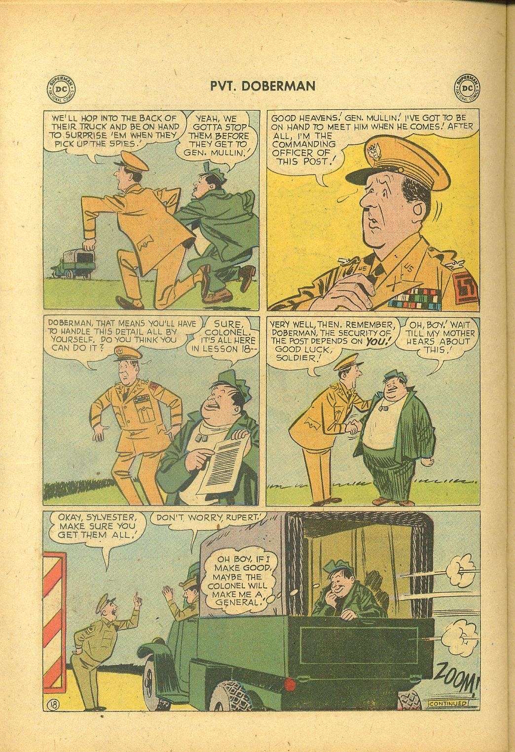 Sgt. Bilko's Pvt. Doberman issue 1 - Page 22