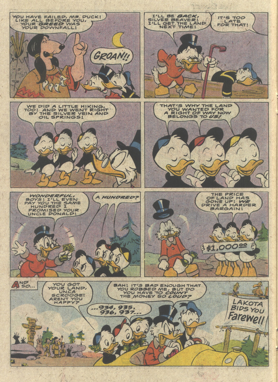 Read online Uncle Scrooge (1953) comic -  Issue #227 - 14