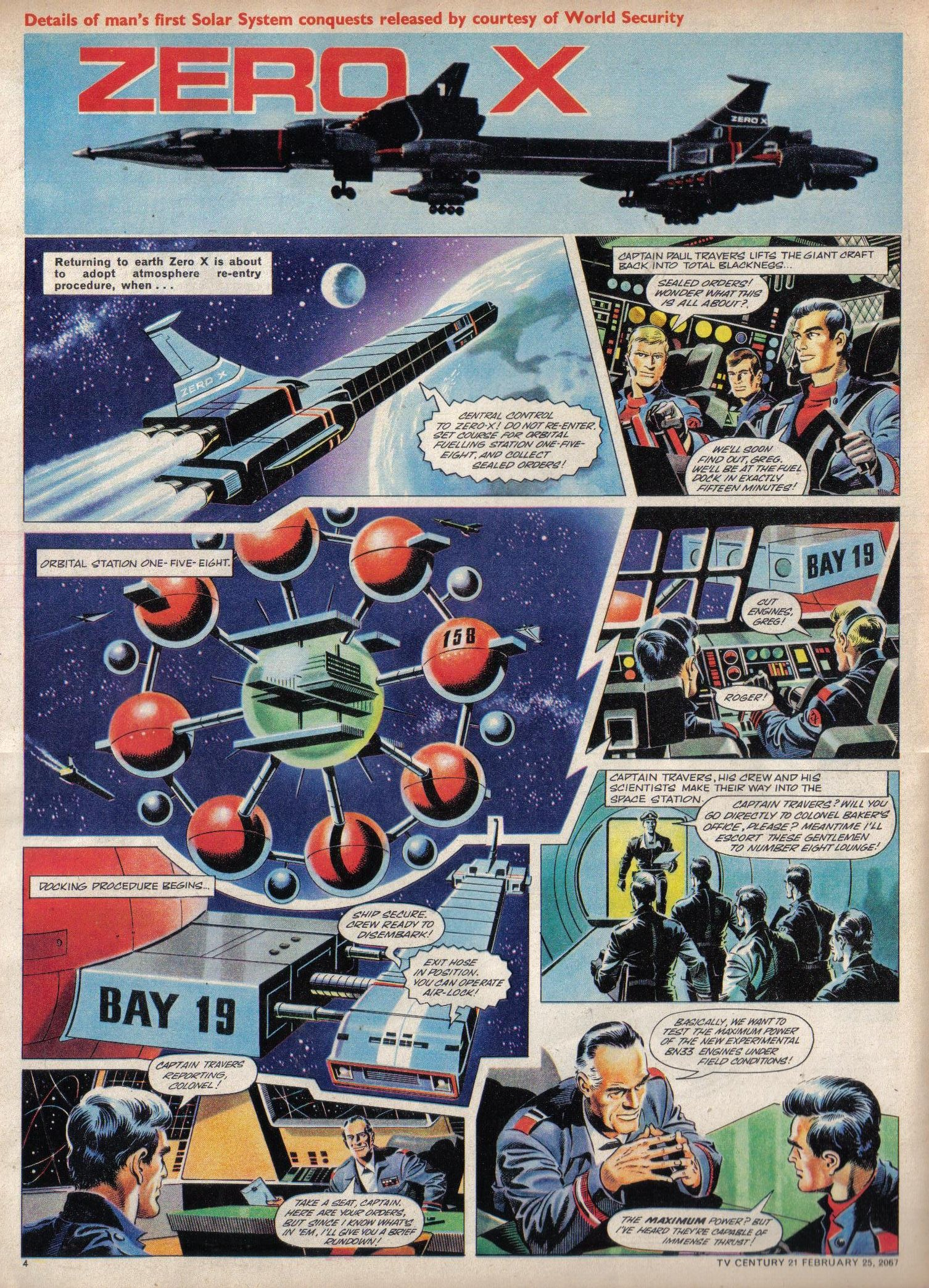 Read online TV Century 21 (TV 21) comic -  Issue #110 - 4