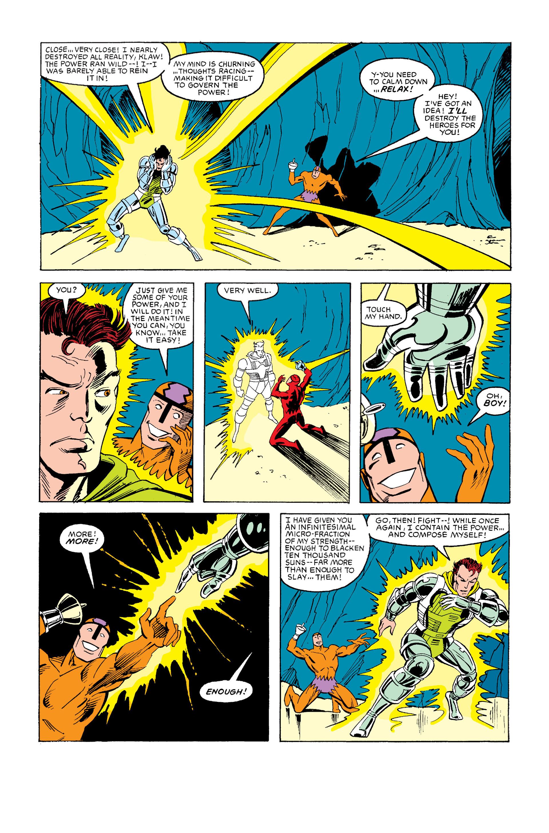 Read online Secret Wars (1985) comic -  Issue #12 - 21