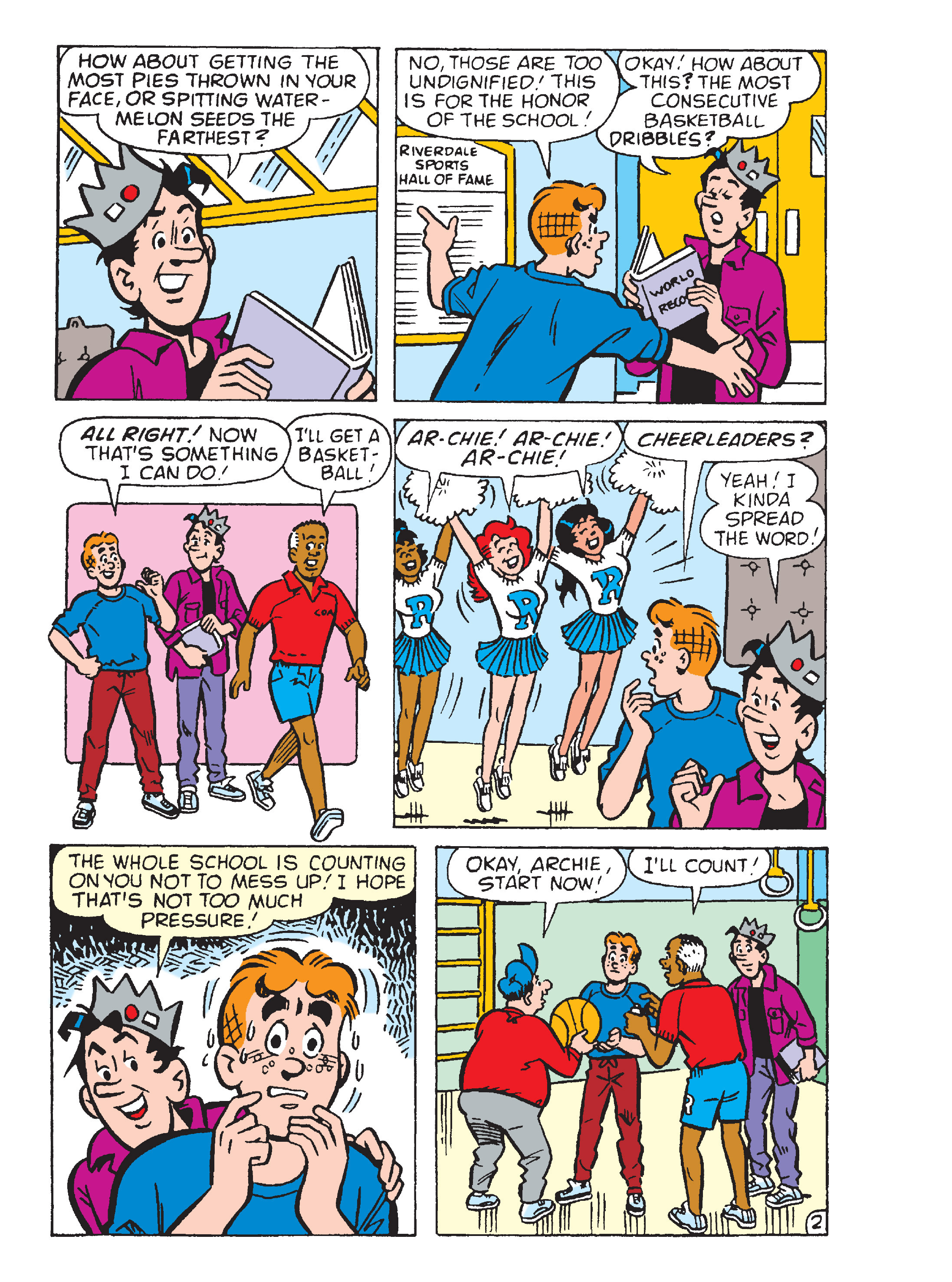 Read online Archie's Funhouse Double Digest comic -  Issue #17 - 25