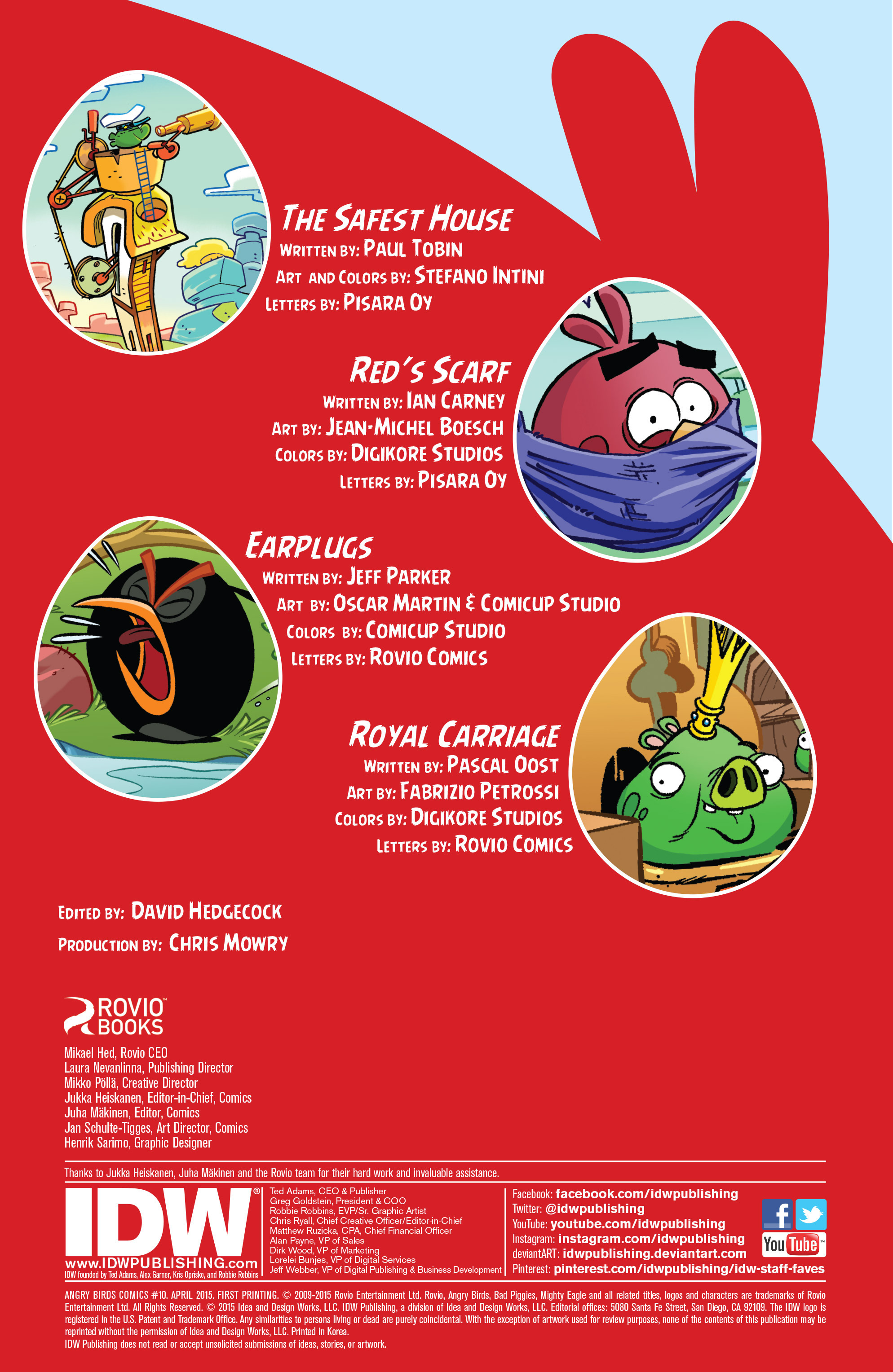 Read online Angry Birds Comics (2014) comic -  Issue #10 - 2