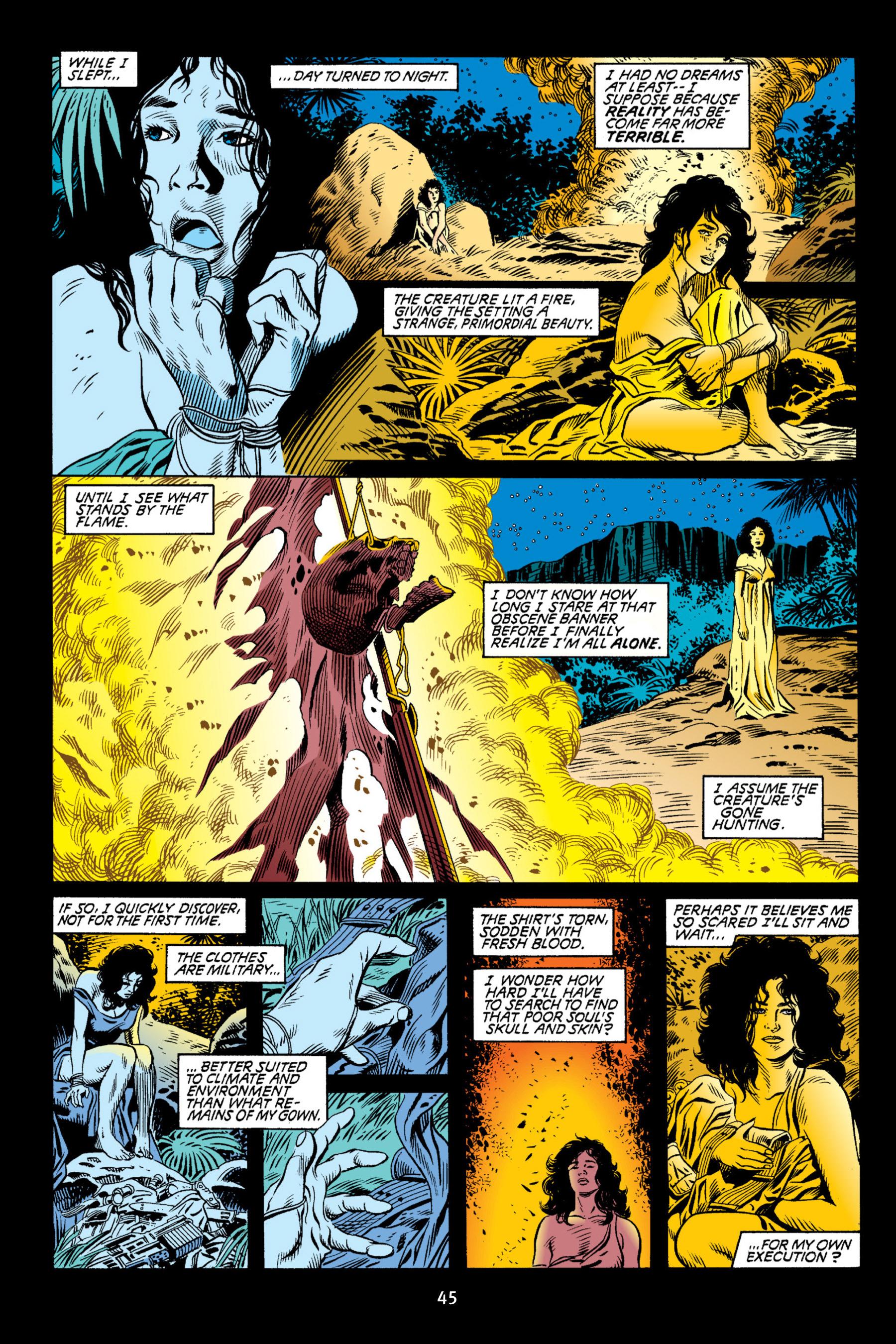 Read online Aliens vs. Predator Omnibus comic -  Issue # _TPB 2 Part 1 - 45
