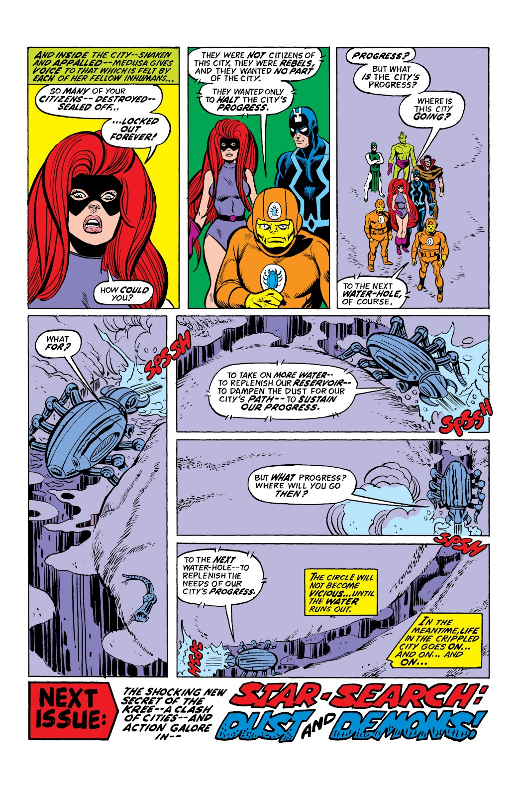 Read online Marvel Masterworks: The Inhumans comic -  Issue # TPB 2 (Part 2) - 35
