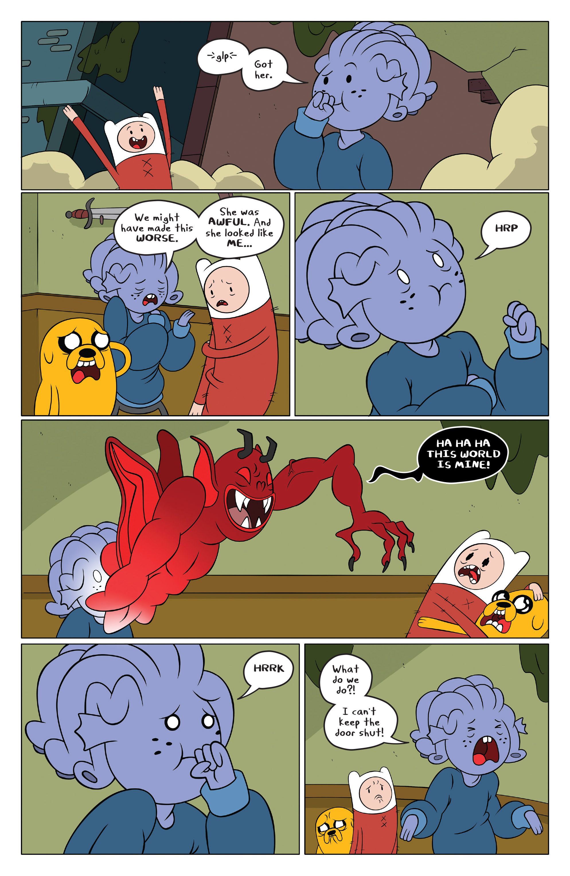 Read online Adventure Time comic -  Issue #49 - 16