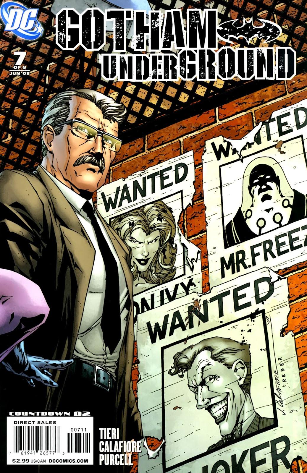 Gotham Underground issue 7 - Page 1