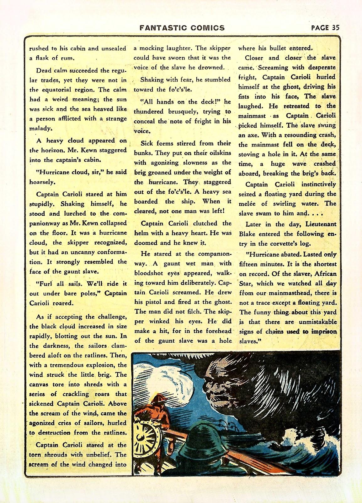 Read online Fantastic Comics comic -  Issue #11 - 38