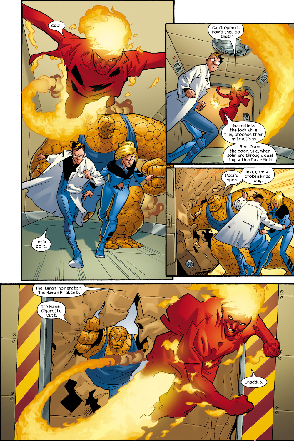 Read online Ultimate Fantastic Four (2004) comic -  Issue #9 - 13