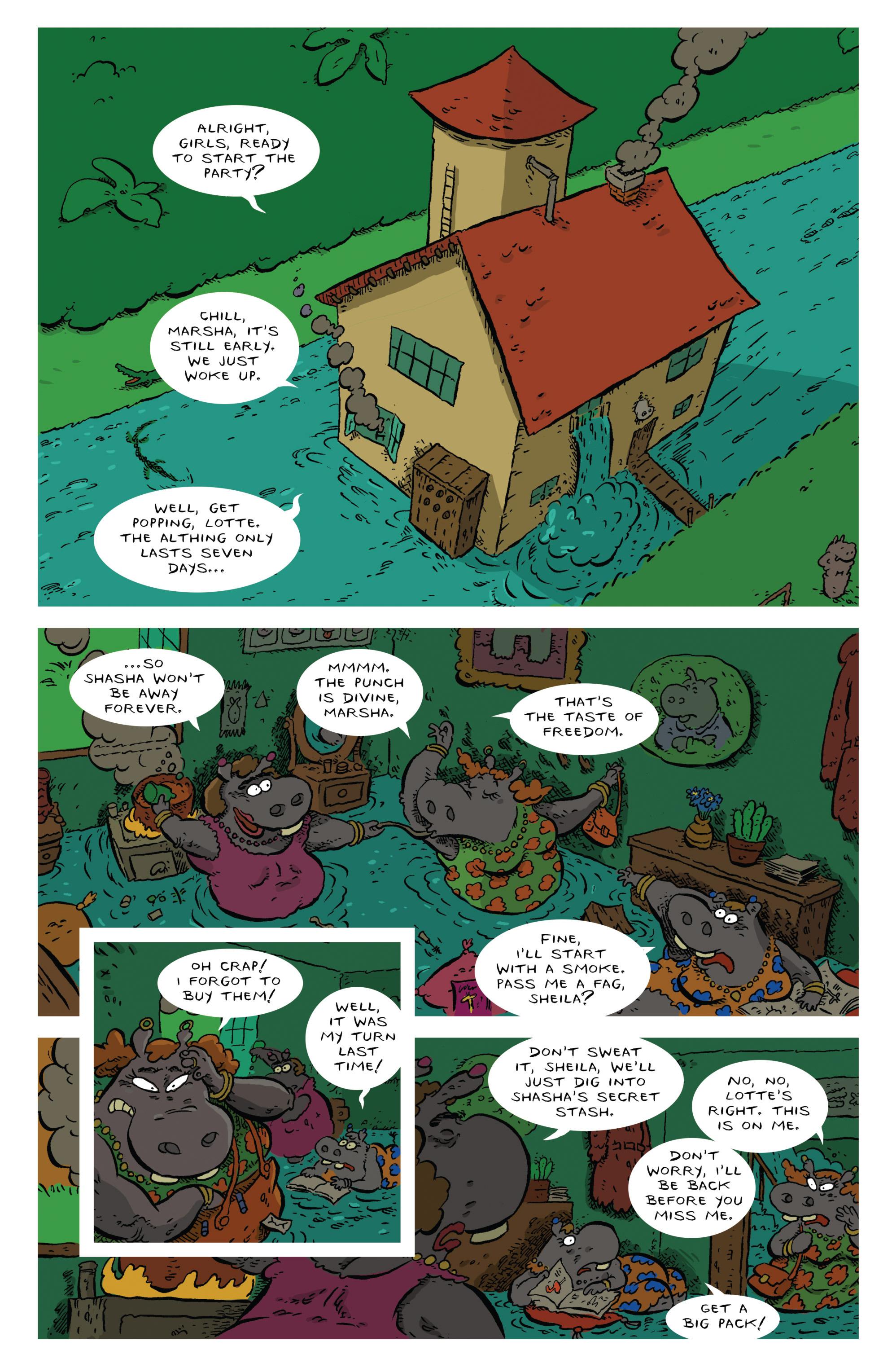 Read online Animal Noir comic -  Issue #4 - 3
