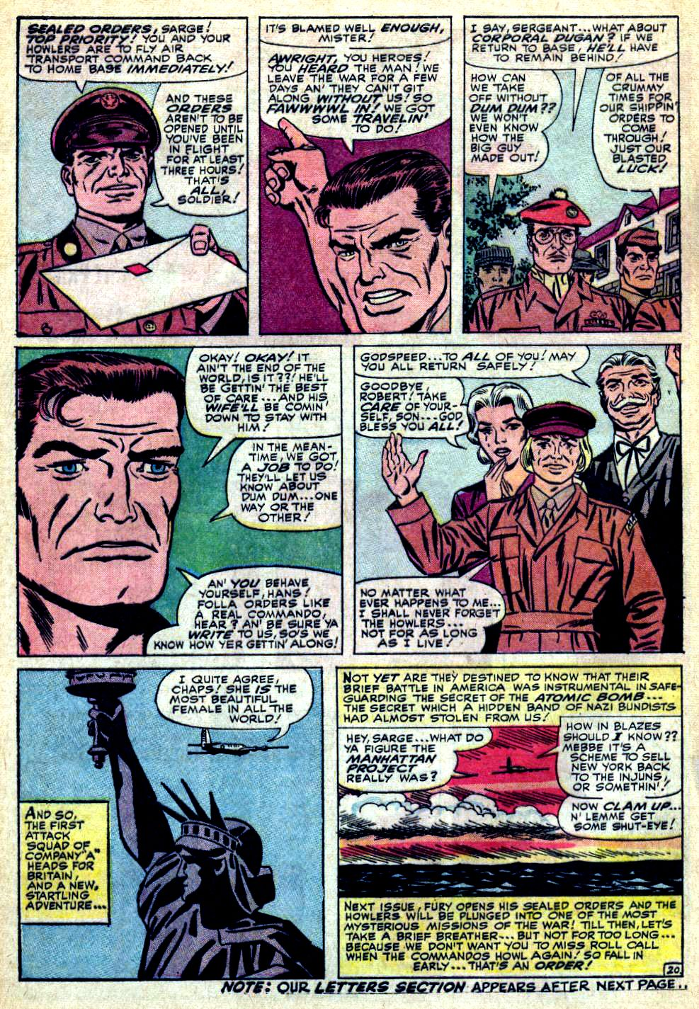 Read online Sgt. Fury comic -  Issue #24 - 28