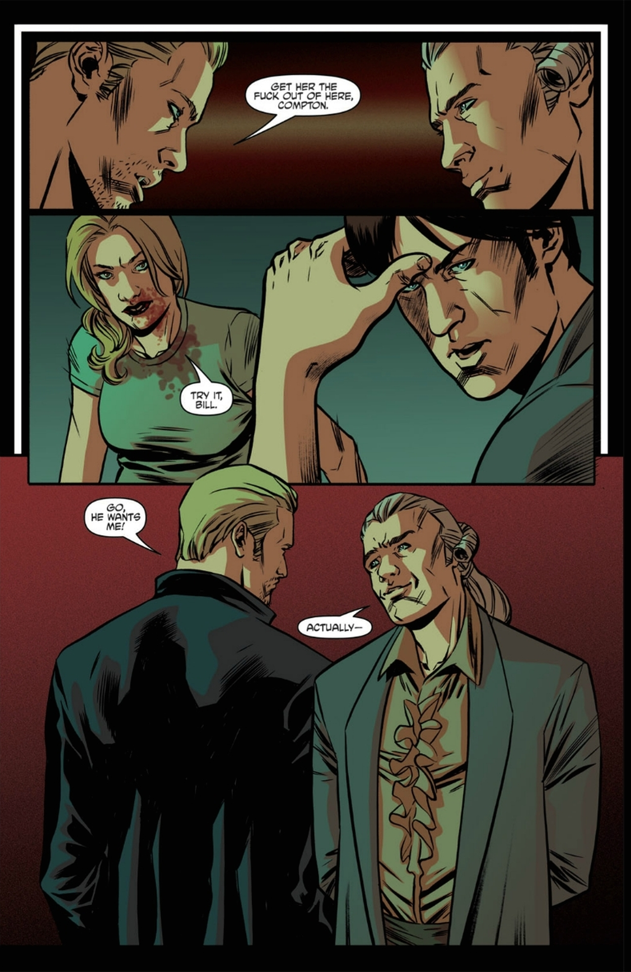 Read online True Blood: French Quarter comic -  Issue #6 - 11