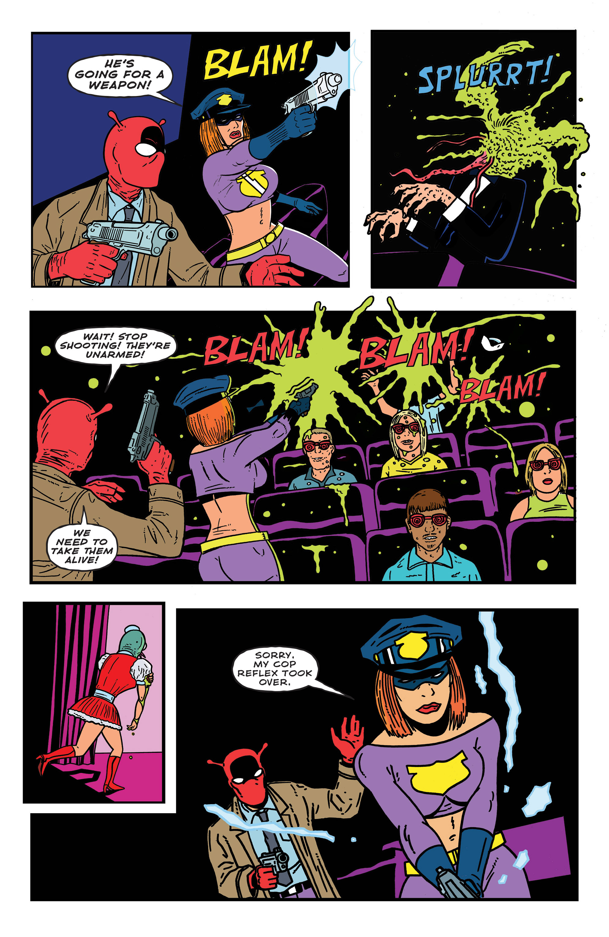 Read online Bulletproof Coffin: The Thousand Yard Stare comic -  Issue # Full - 18