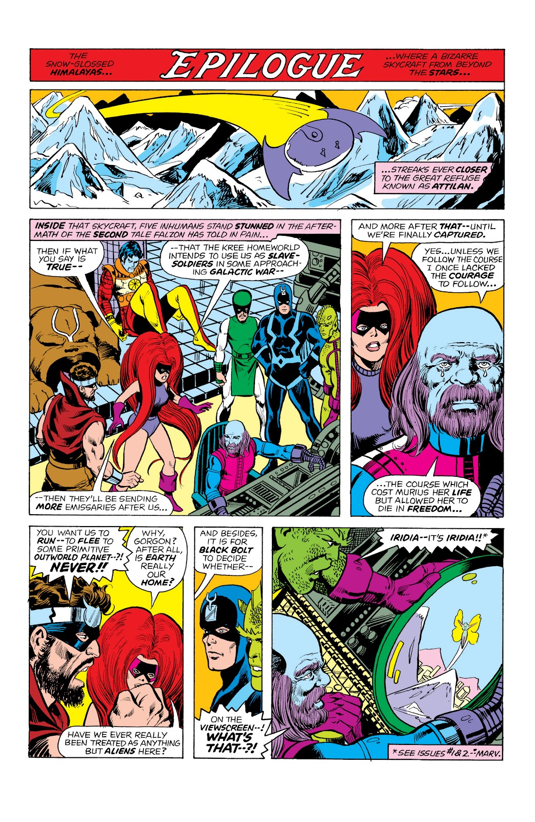 Read online Marvel Masterworks: The Inhumans comic -  Issue # TPB 2 (Part 1) - 79