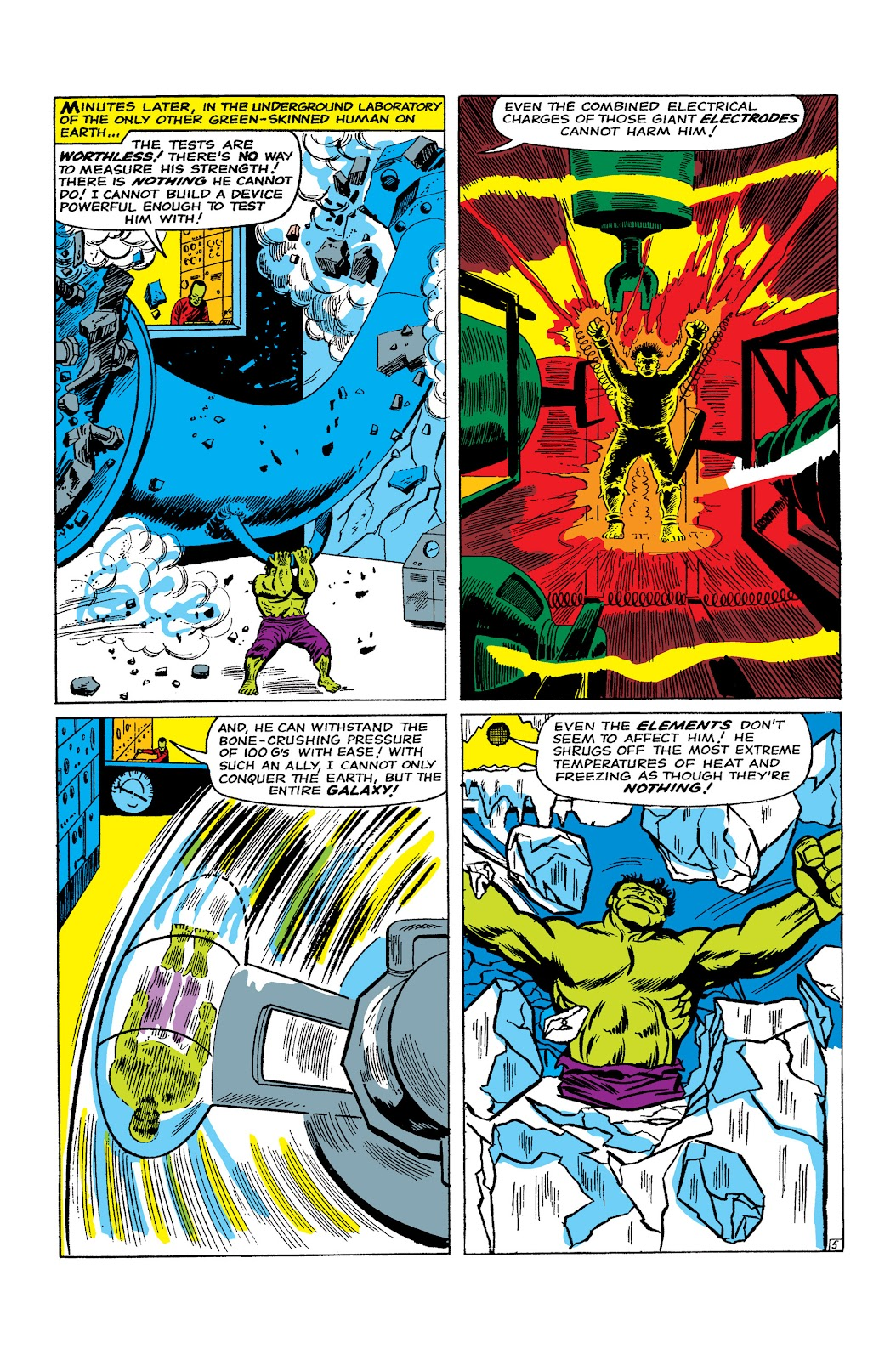 Read online Marvel Masterworks: The Incredible Hulk comic -  Issue # TPB 2 (Part 2) - 72