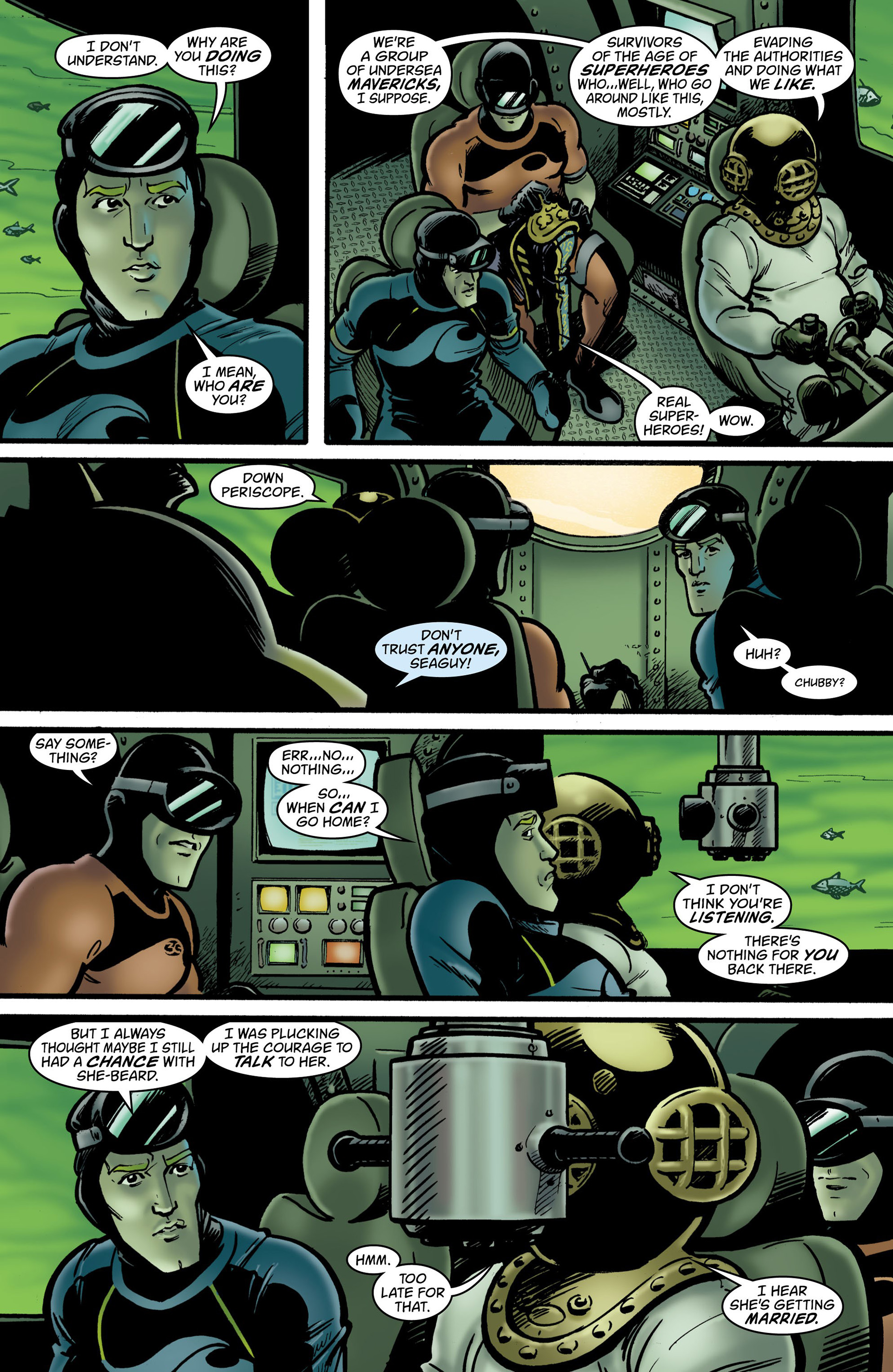 Read online Seaguy: The Slaves of Mickey Eye comic -  Issue #2 - 9