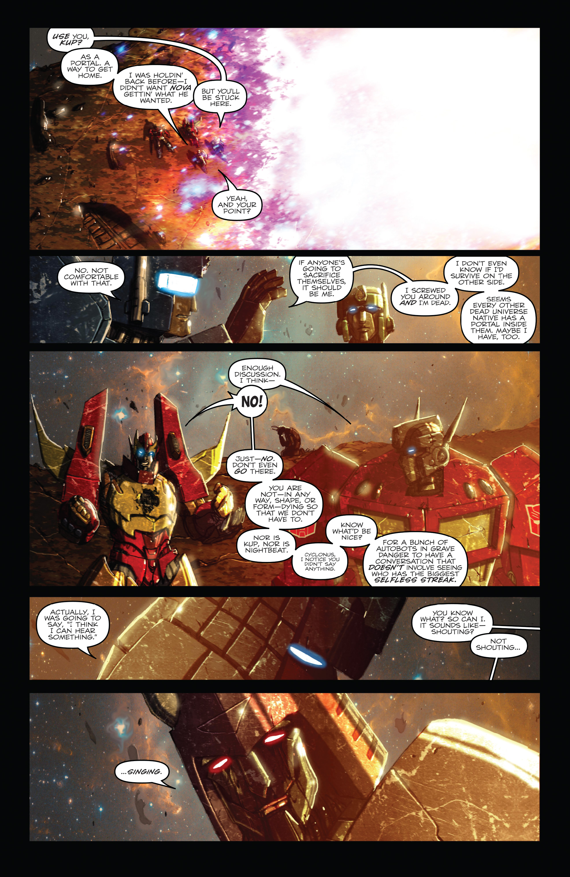 Read online The Transformers: Dark Cybertron Finale comic -  Issue # Full - 85