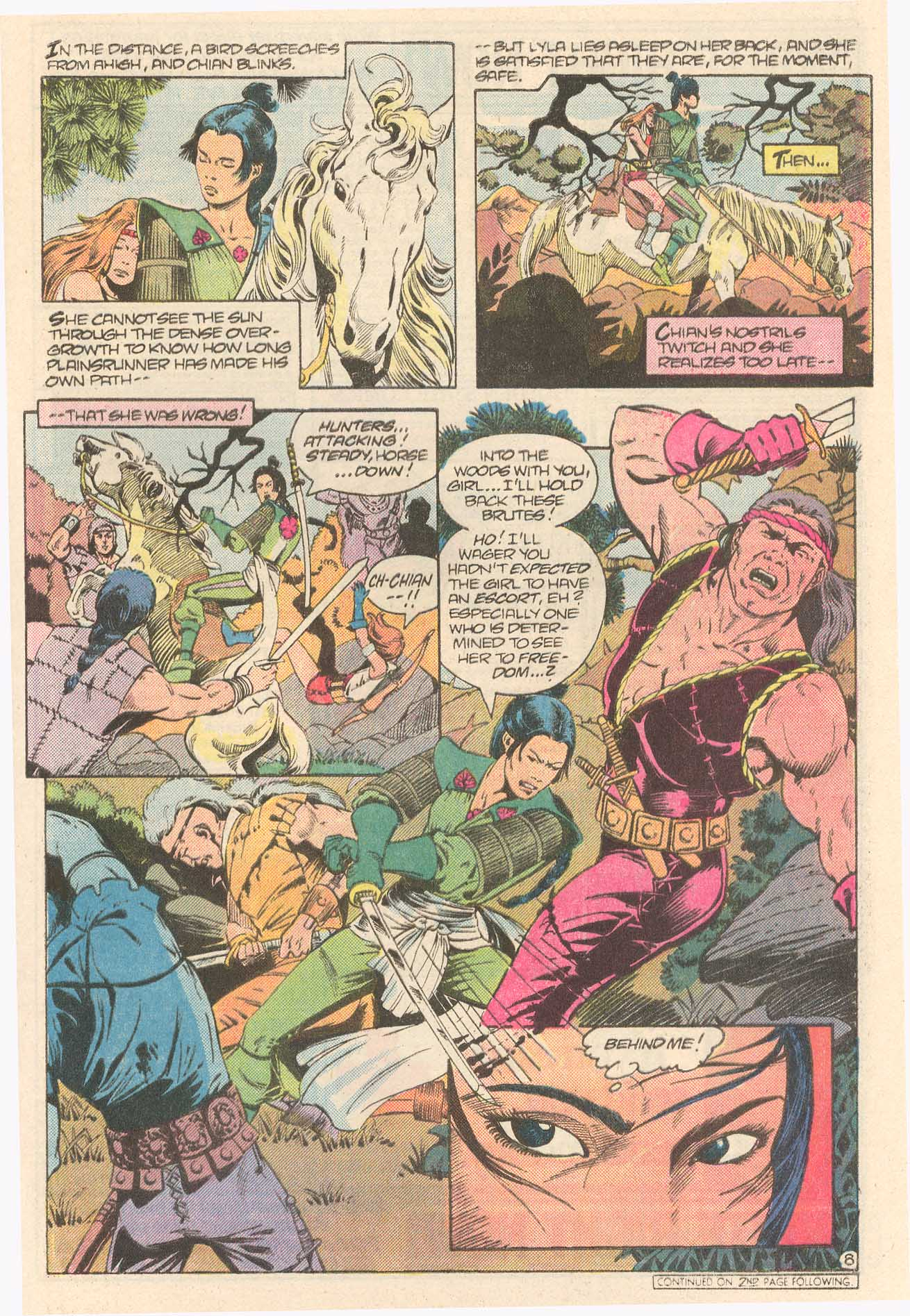 Read online Arion, Lord of Atlantis comic -  Issue #27 - 23