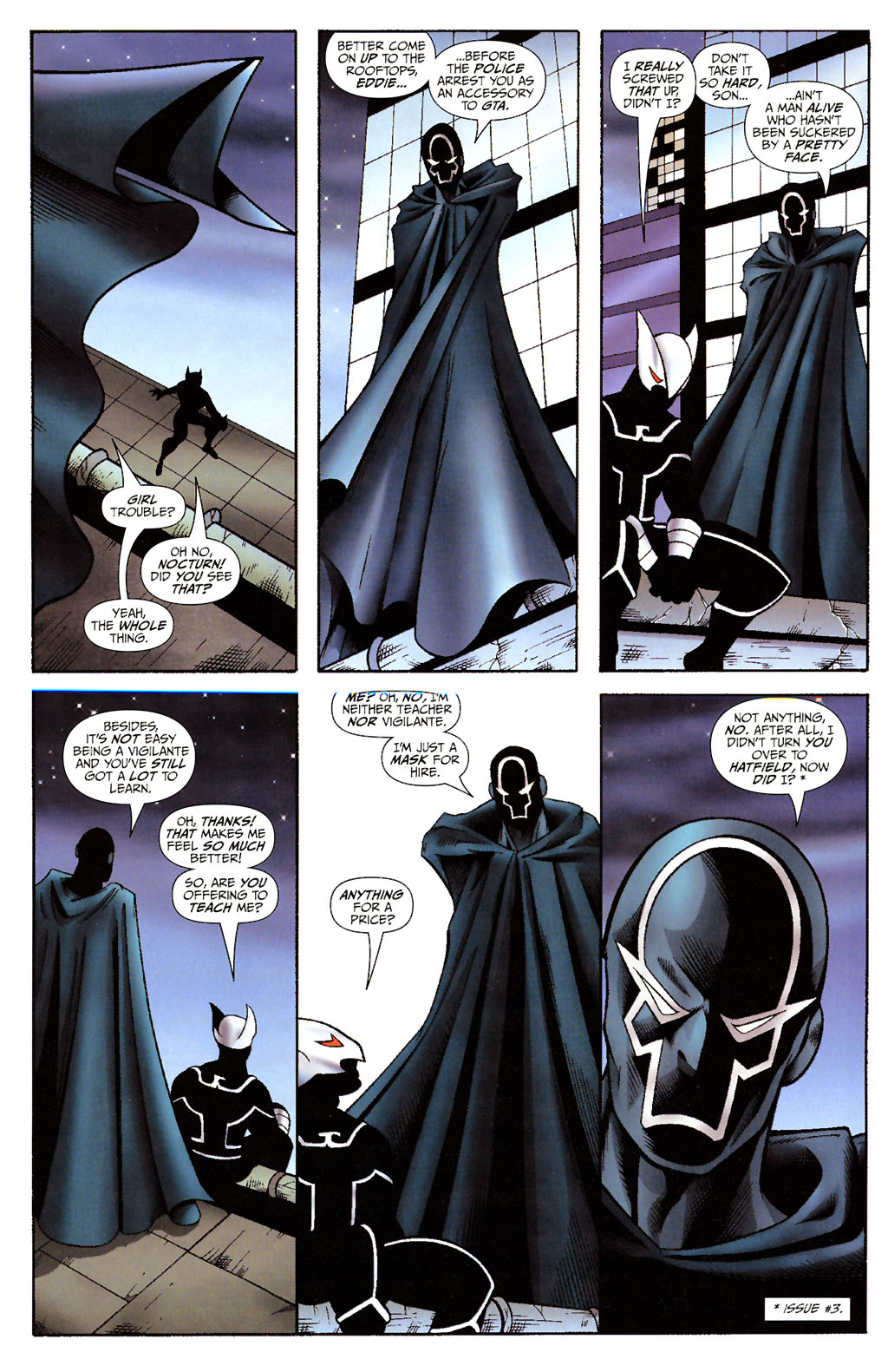 Read online ShadowHawk (2005) comic -  Issue #14 - 9