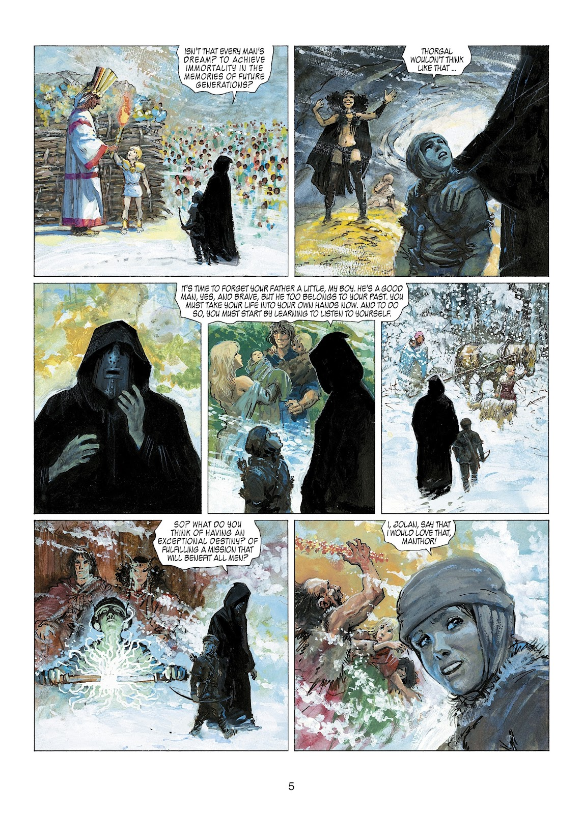 Read online Thorgal comic -  Issue #22 - 7