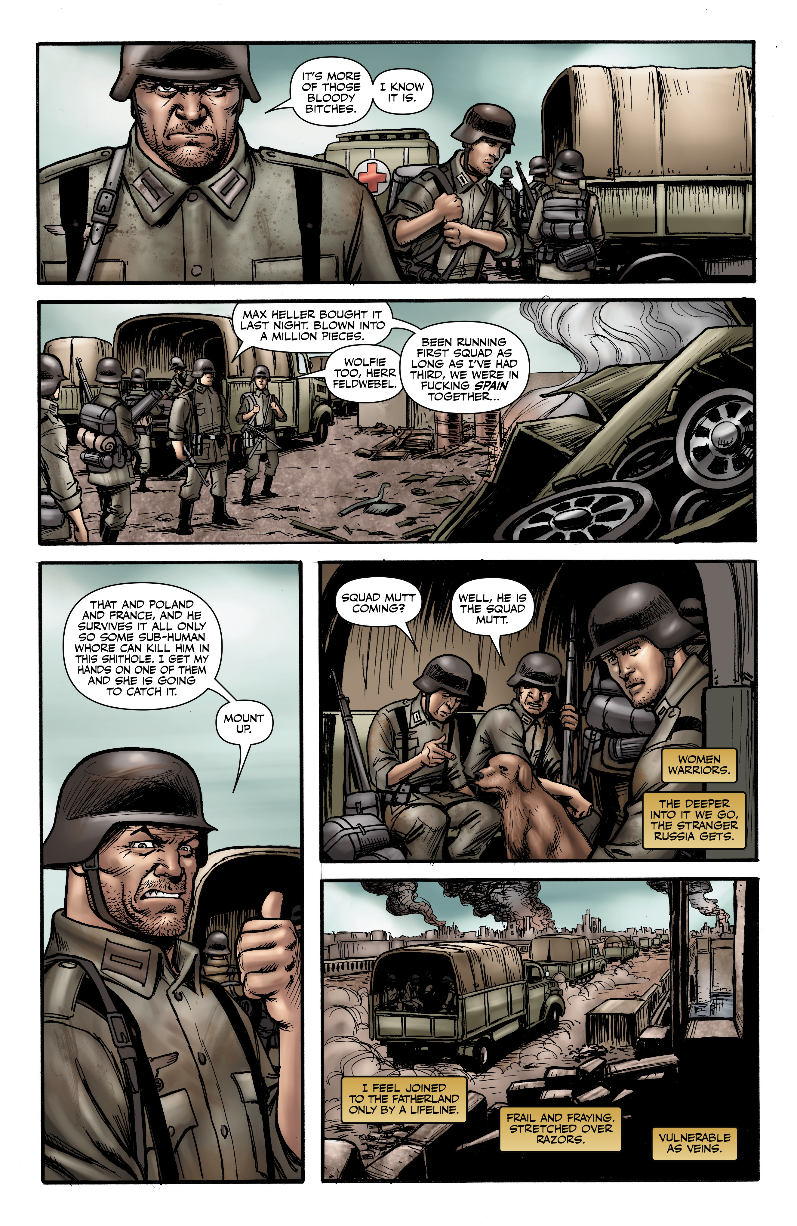 Read online Battlefields: Night Witches comic -  Issue # TPB - 30