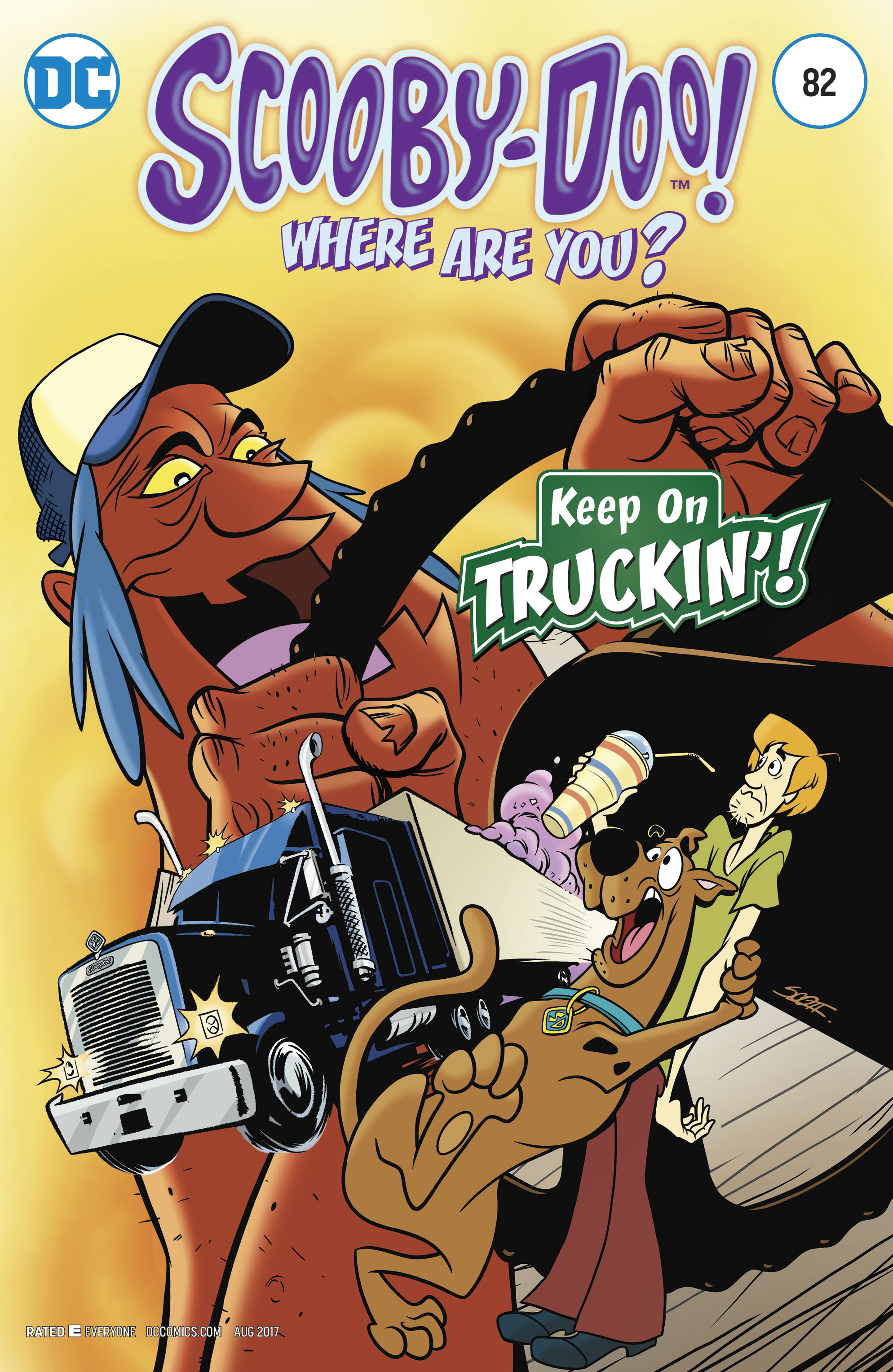 Read online Scooby-Doo: Where Are You? comic -  Issue #82 - 1