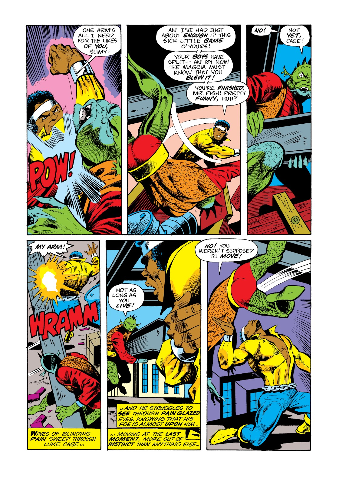 Read online Marvel Masterworks: Luke Cage, Power Man comic -  Issue # TPB 2 (Part 3) - 56