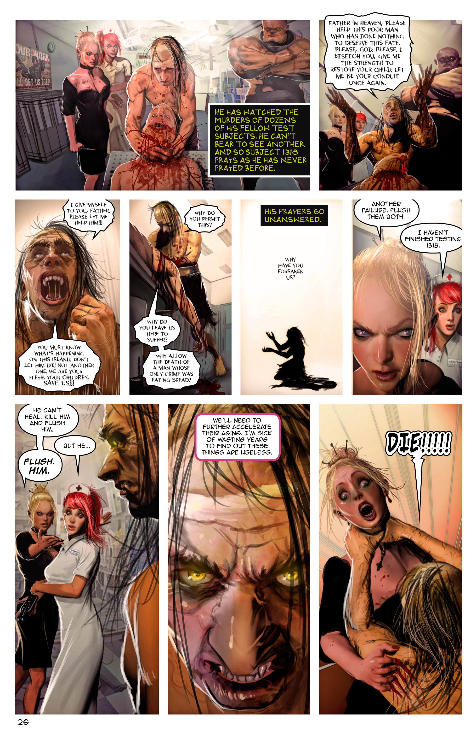 Read online Escape from Jesus Island comic -  Issue #2 - 26