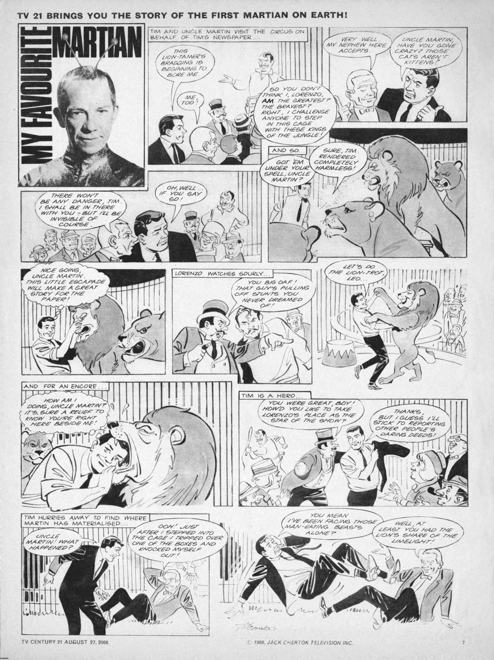Read online TV Century 21 (TV 21) comic -  Issue #84 - 7