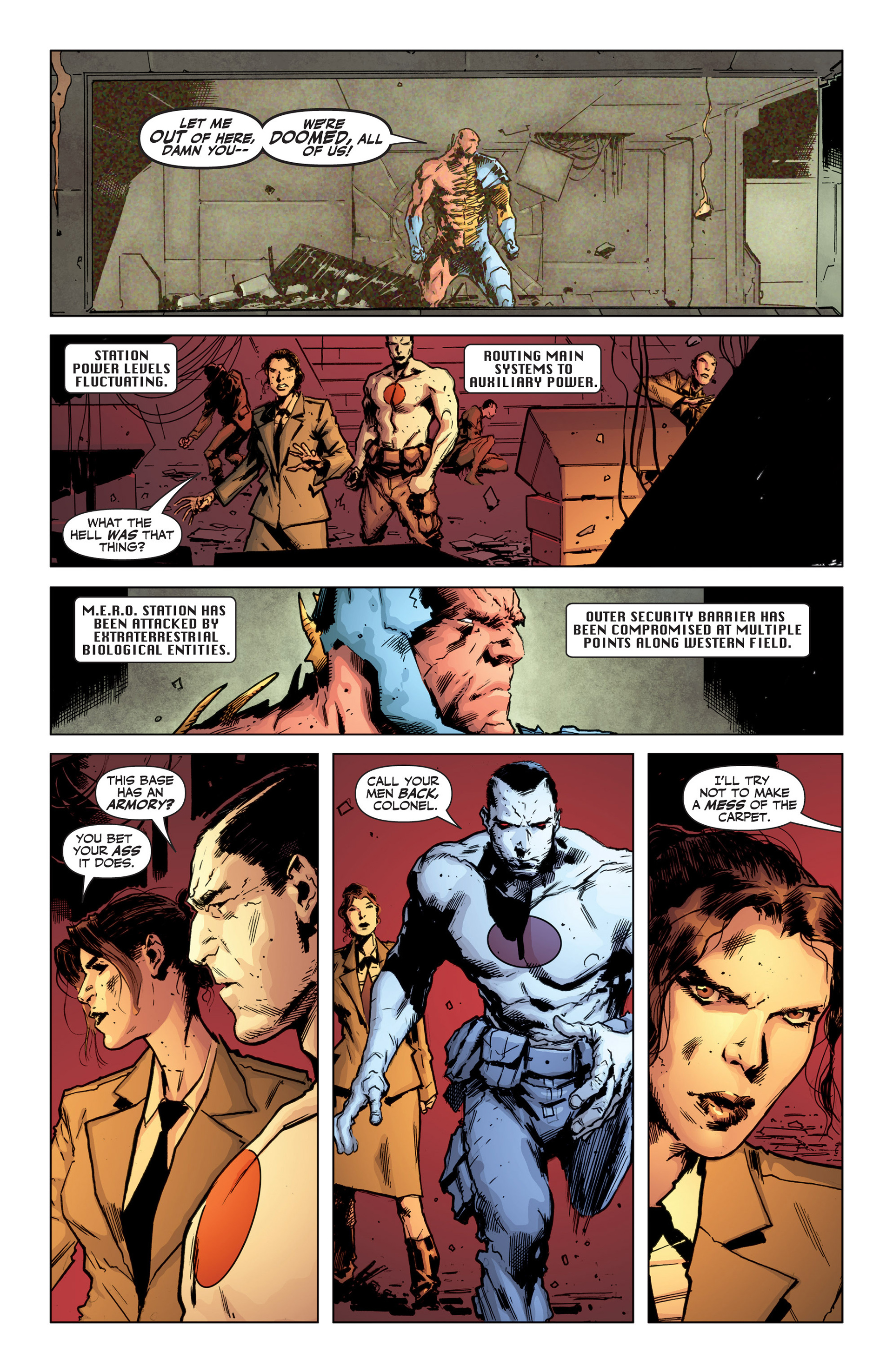 Read online Armor Hunters: Bloodshot comic -  Issue #1 - 17